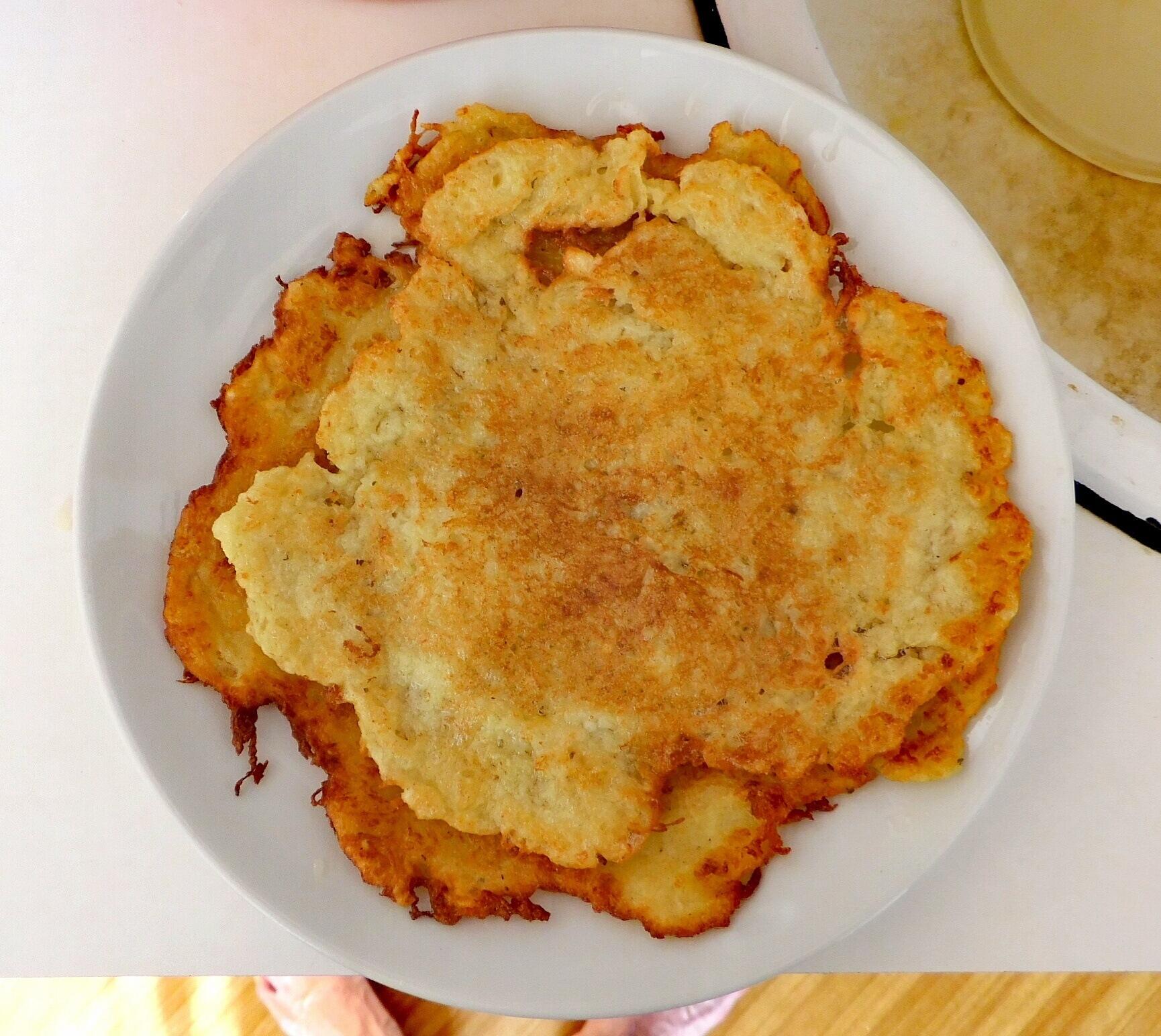Potato Pancake, Czech Cmunda.  by Karel Laczko