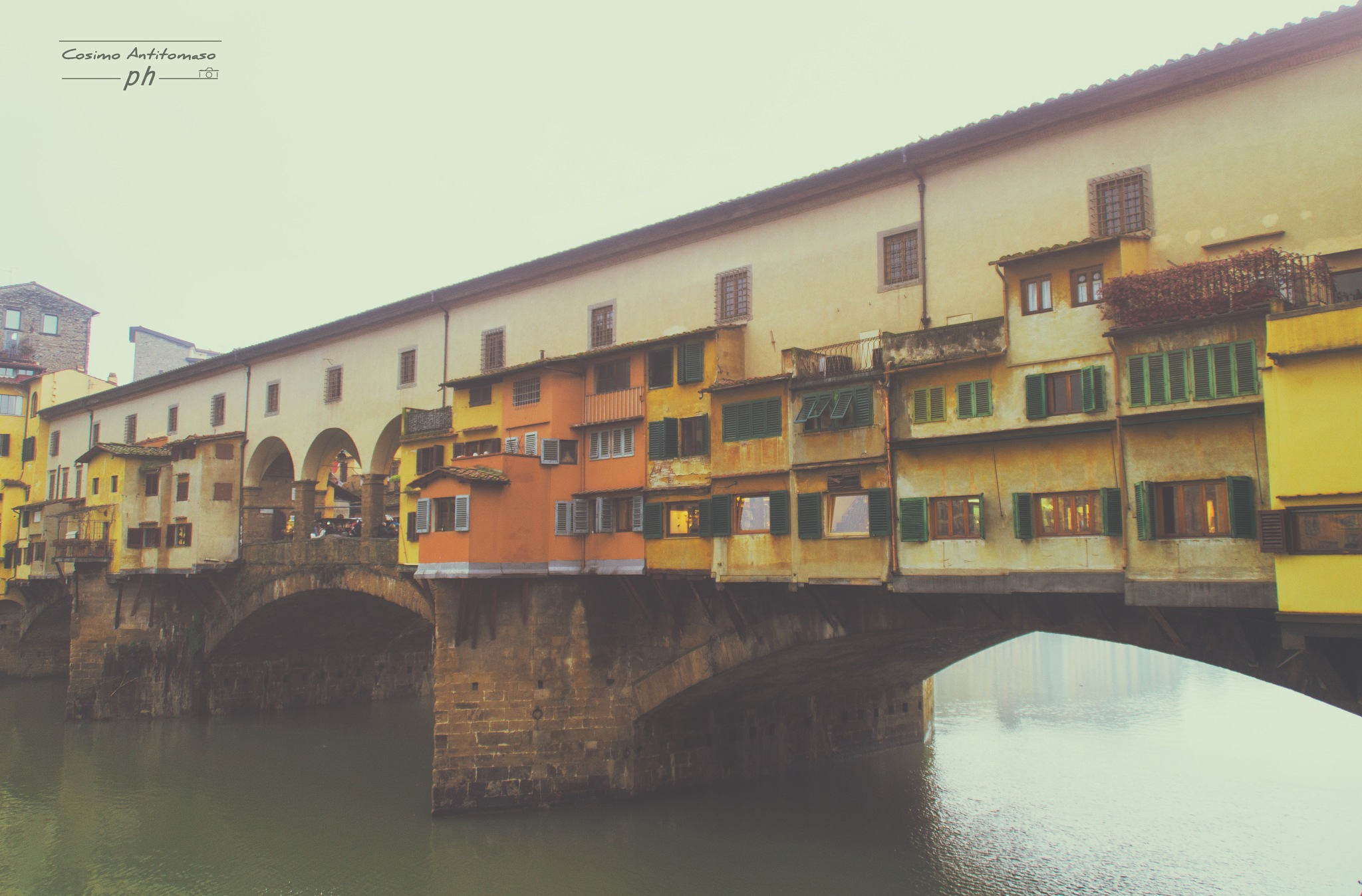 Ponte Vecchio - Firenze by Cosimo Antitomaso