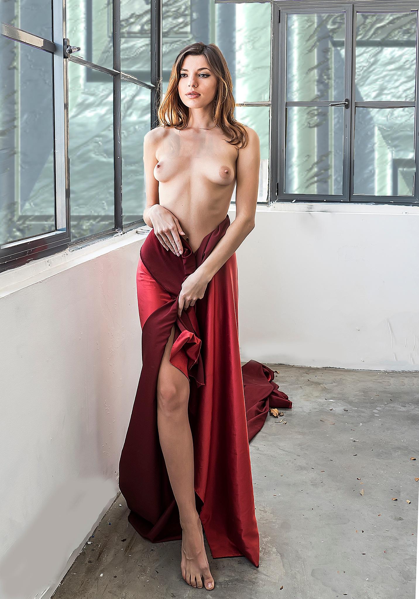 Oxana walking away by Rebecca Danieli