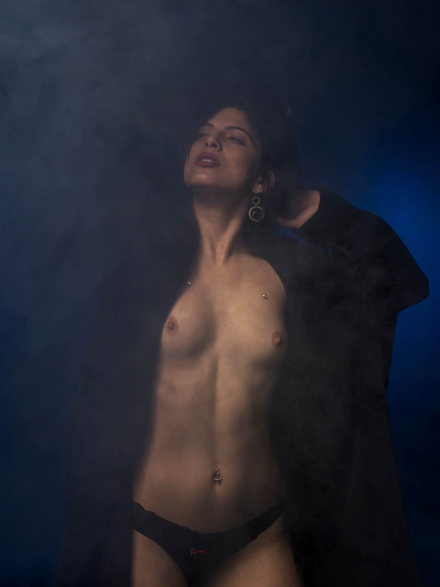 Smoke gets in her eyes... by Rebecca Danieli