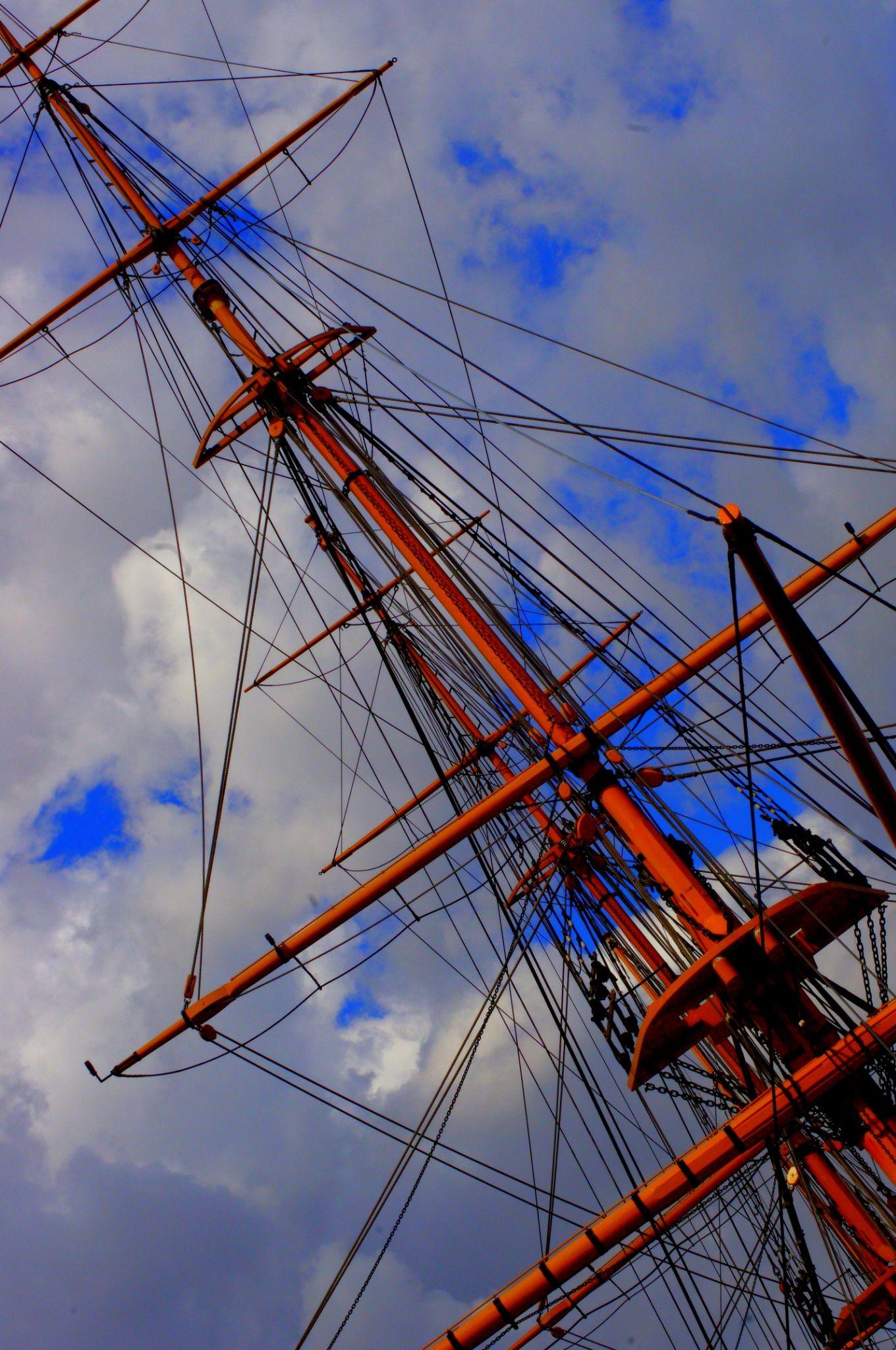 """""""Ships Ahoy"""" by Sophia Moseley"""