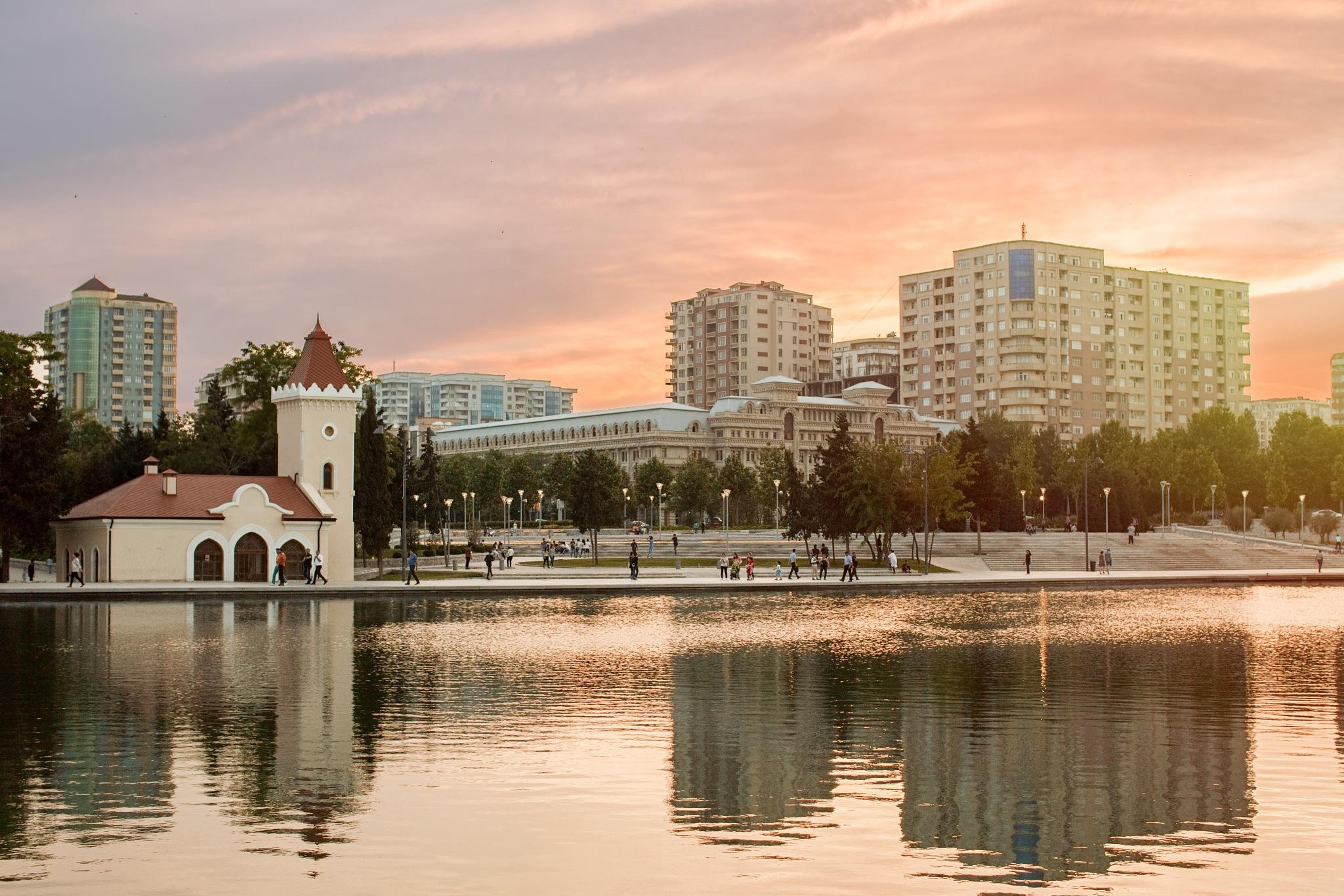 Baku  by Romal Aghayev