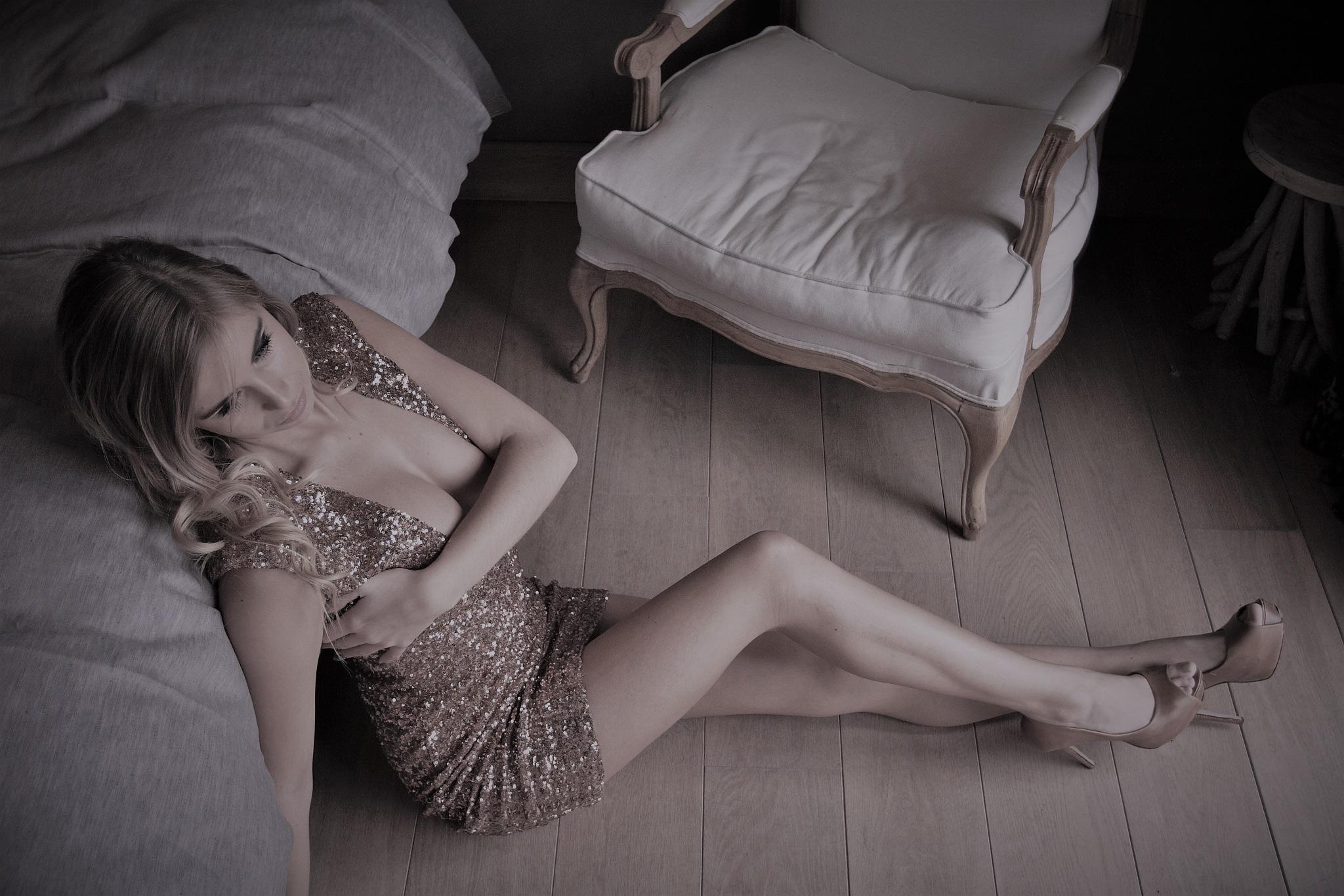 Golden Lady .... by Luc Vandorpe