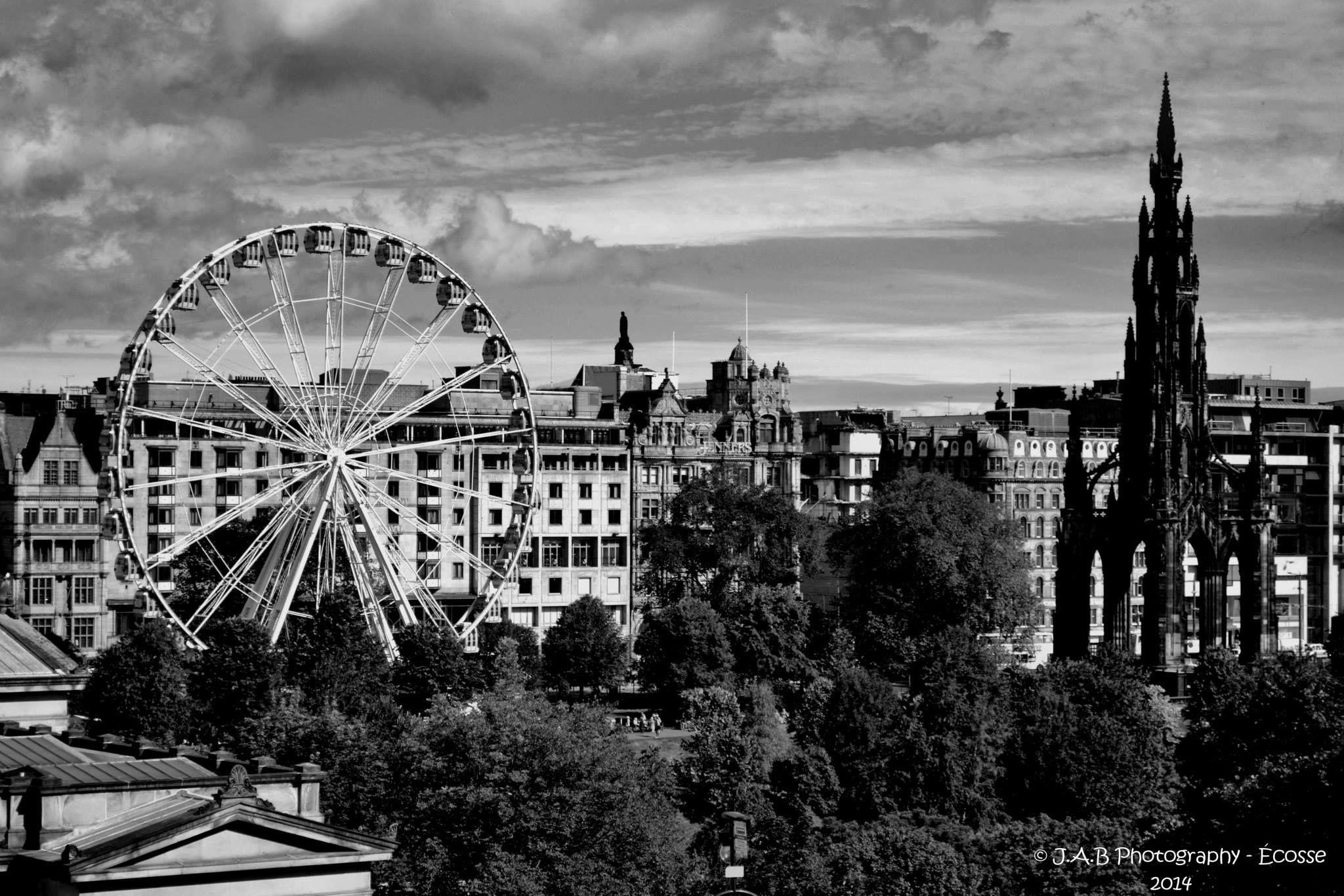 The Edinburgh Wheel by J Allan Black