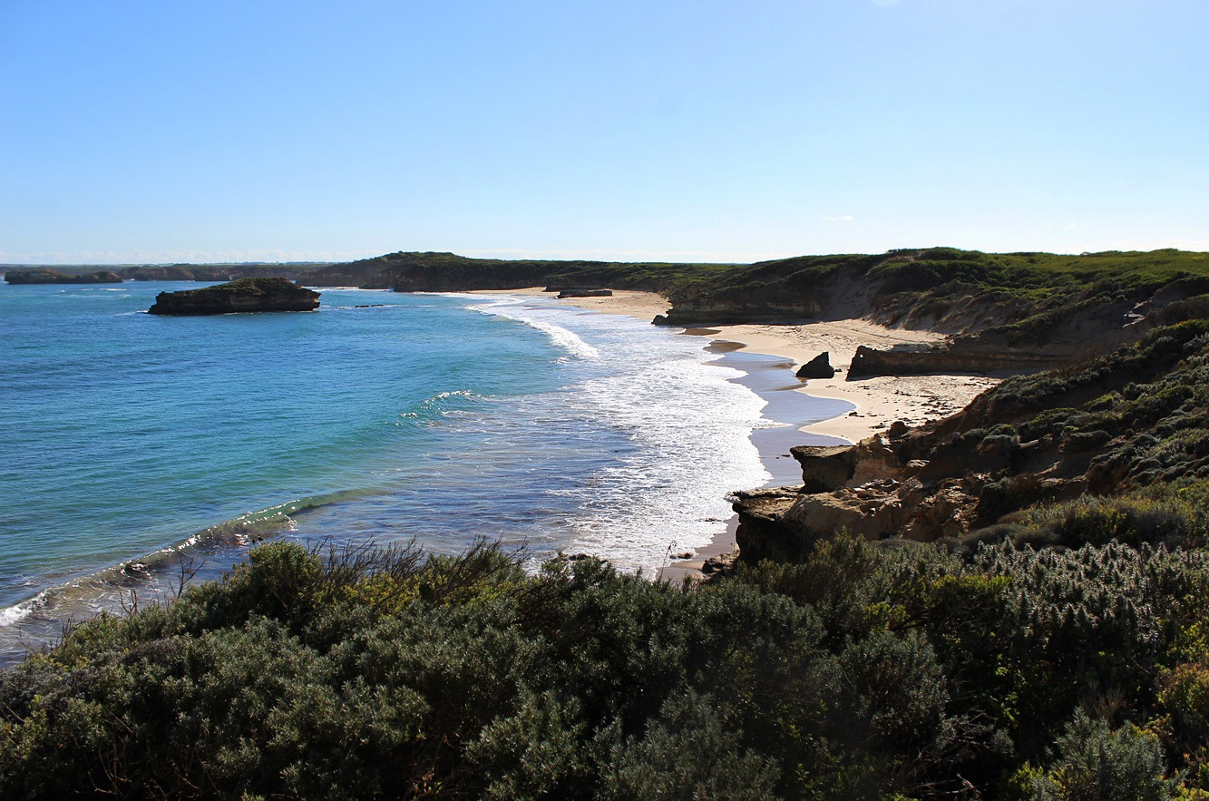 Secluded beach.  by blinkings