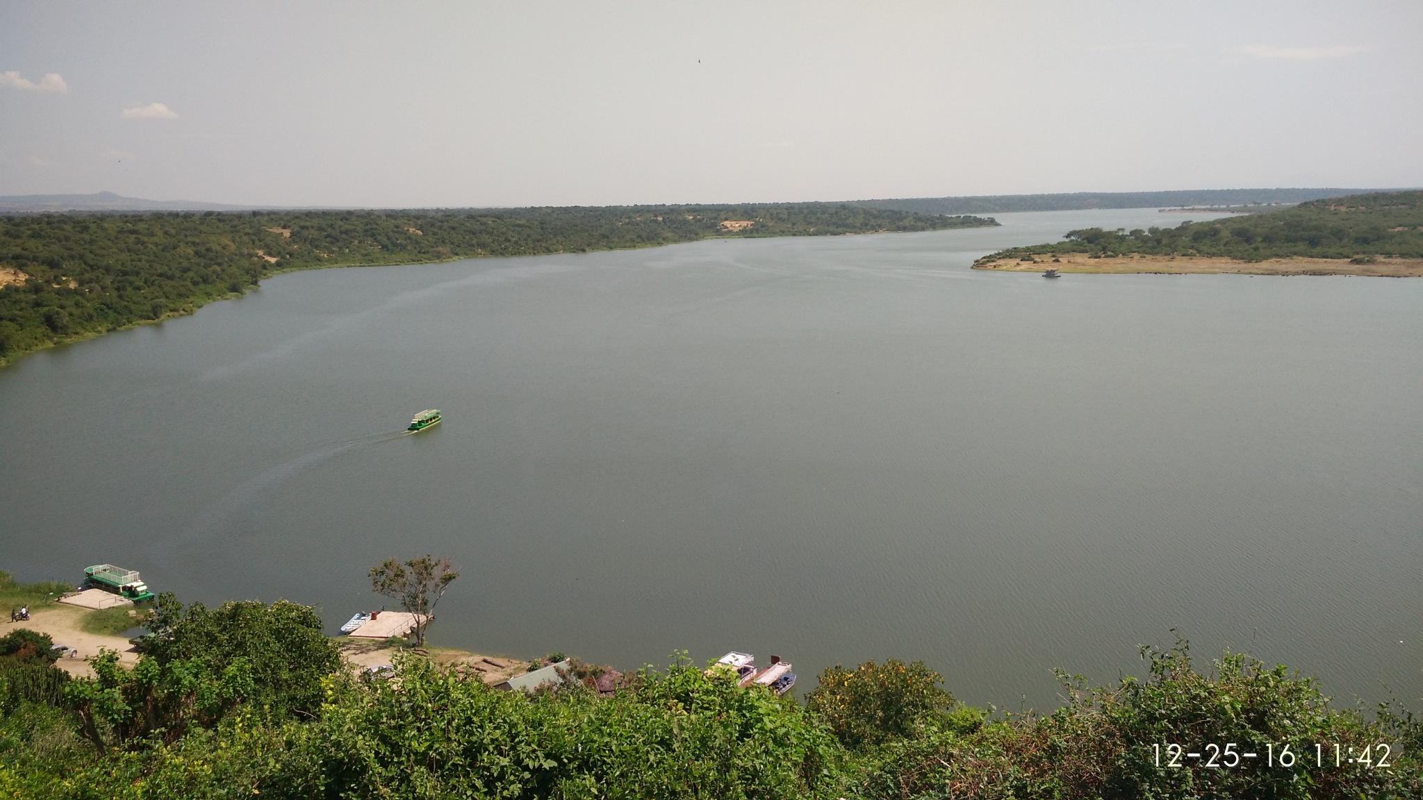 Katwe bay of Lake Edward by Bharat R Khatri