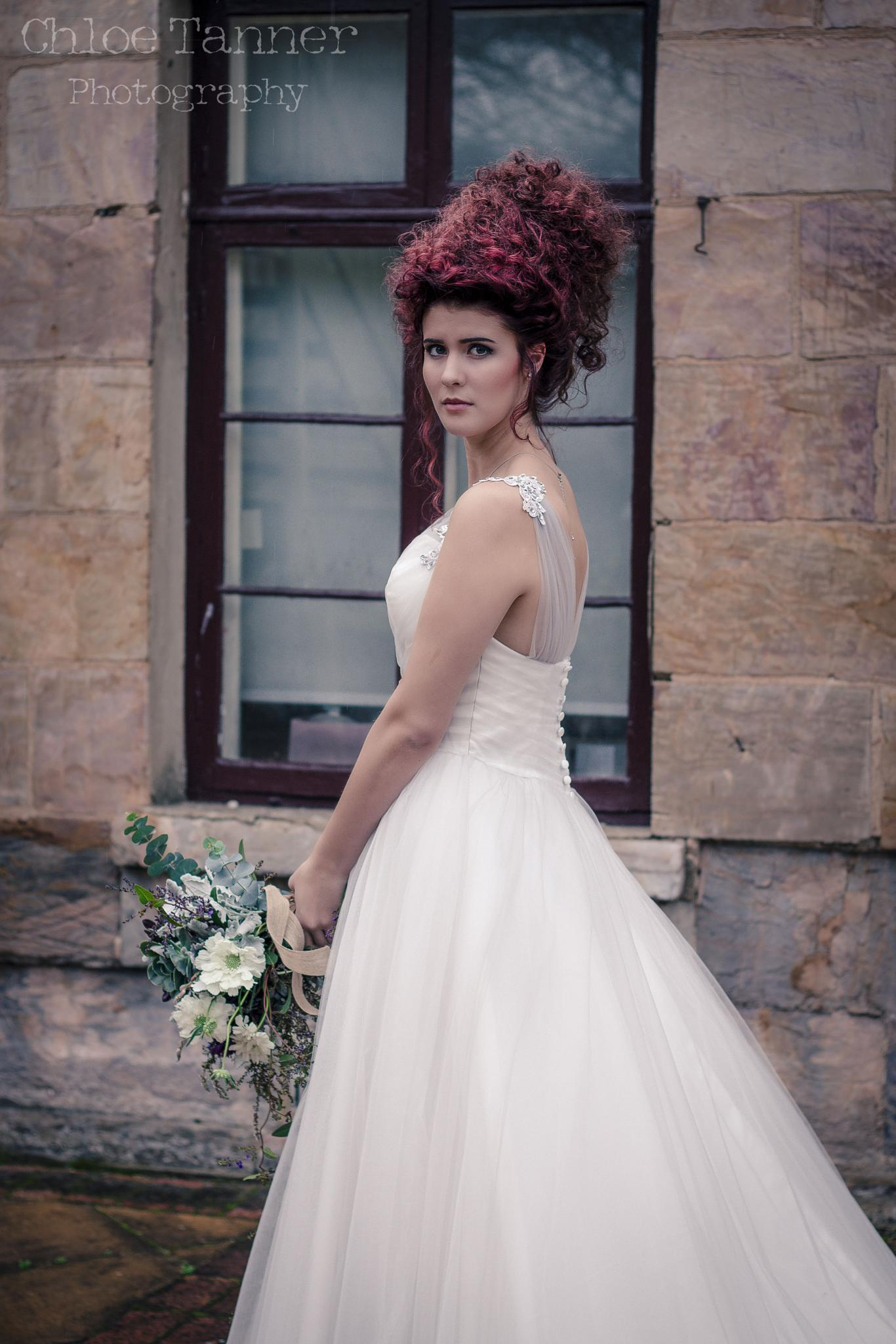 A bride in Hahndorf by Chloe Tanner