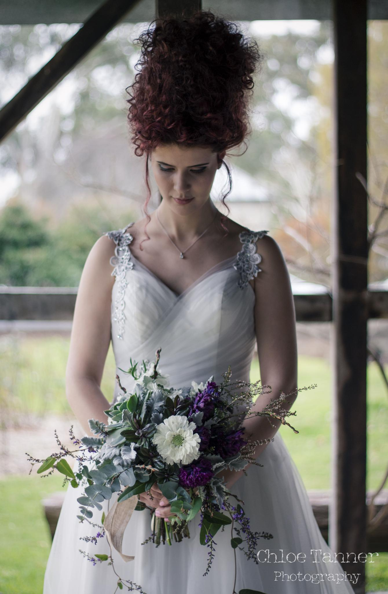 A Victorian bride by Chloe Tanner