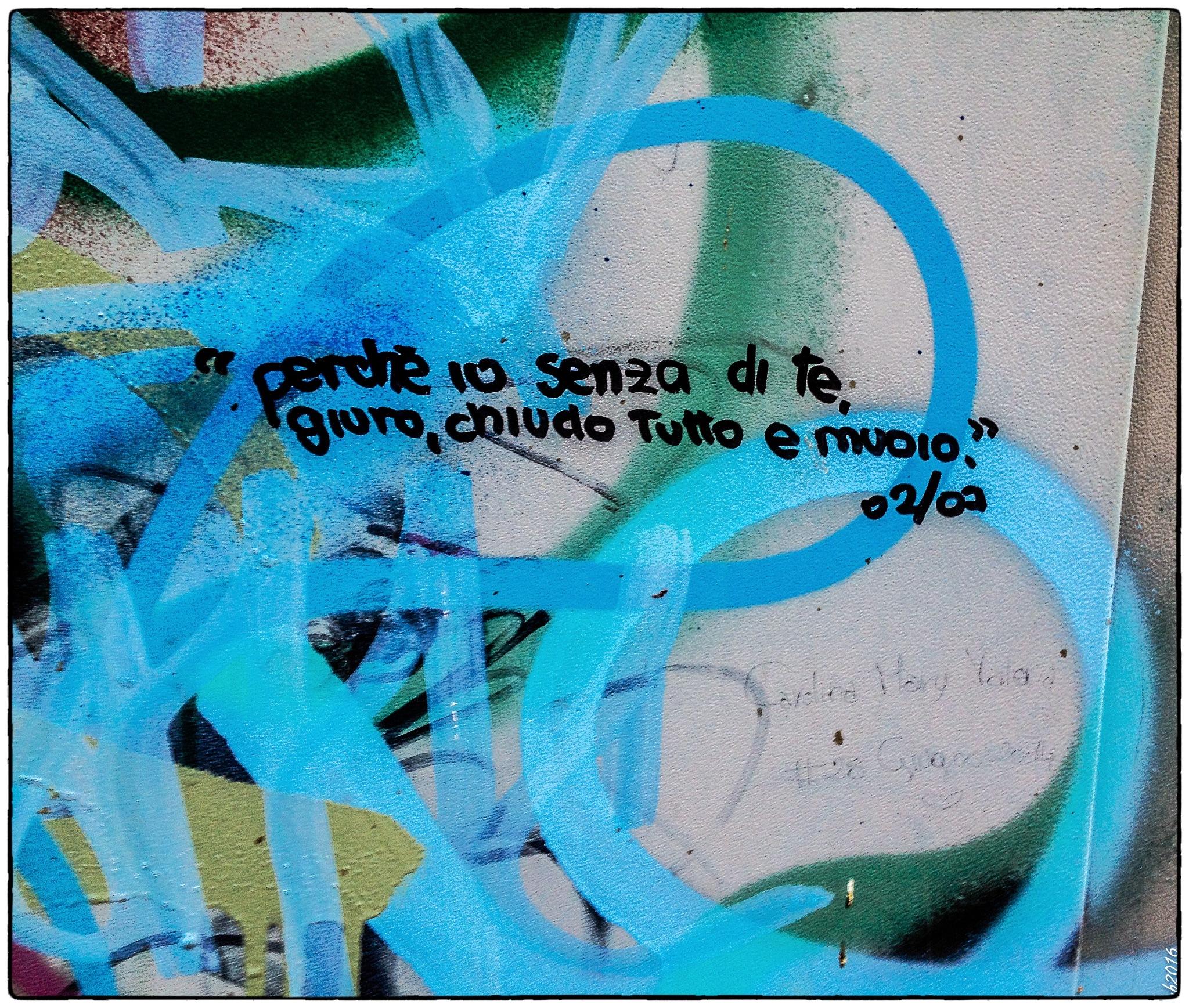 GRAFFITI by Domenico Uccio Boninsegna