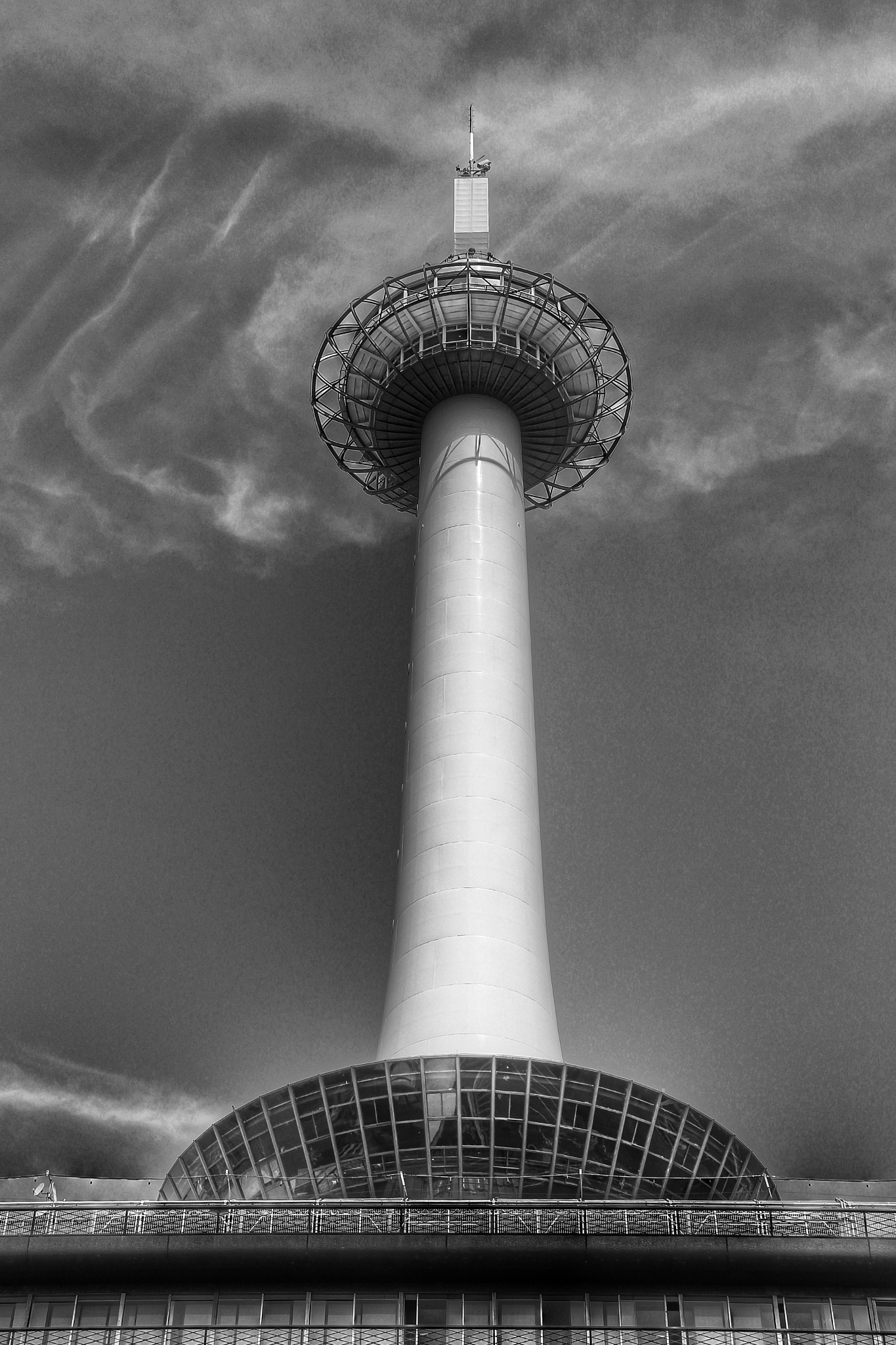 Kyoto tower by Armed-with-a-smile