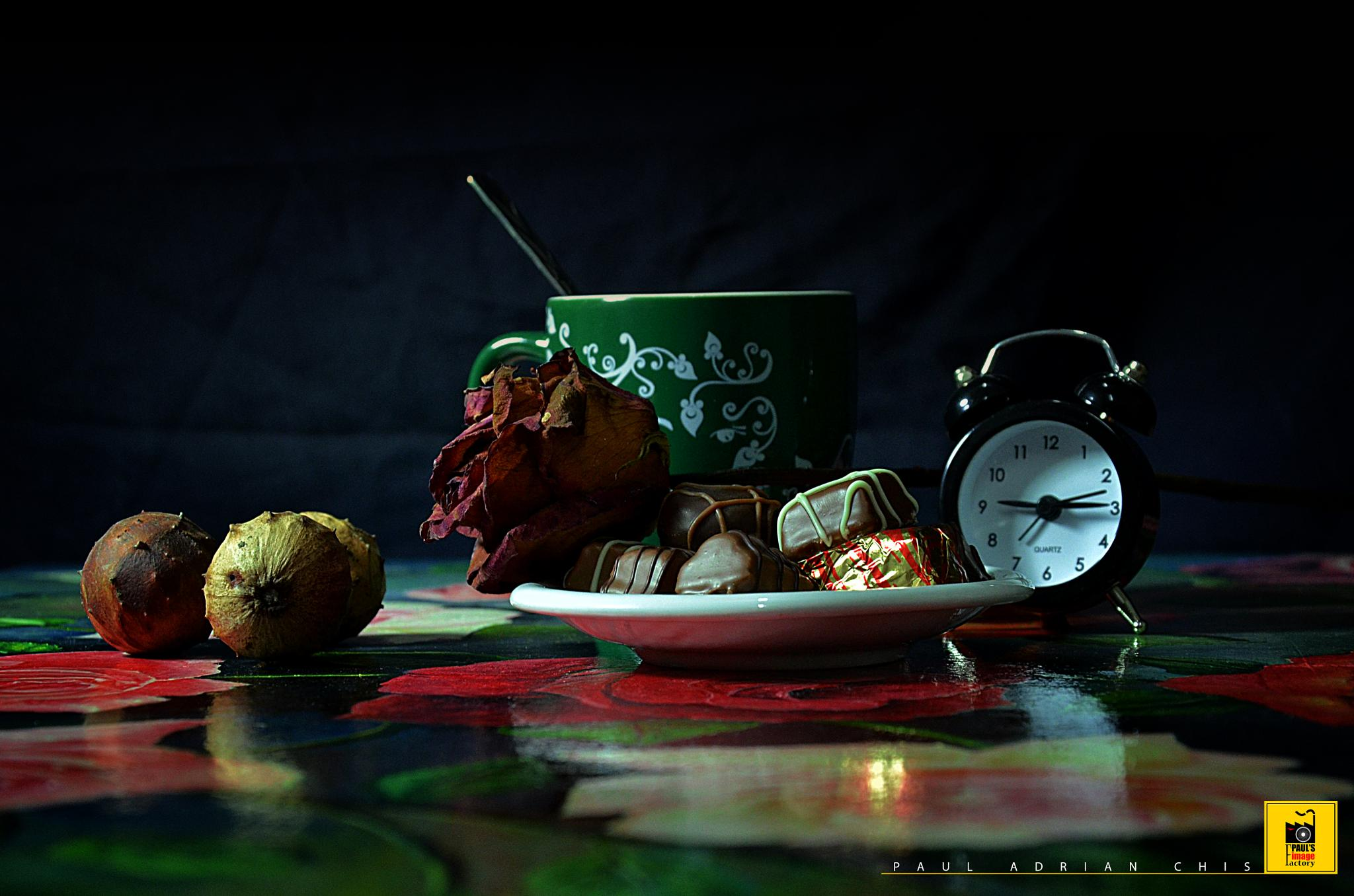 AUTUMN COFFEE  by Paul Adrian Chis