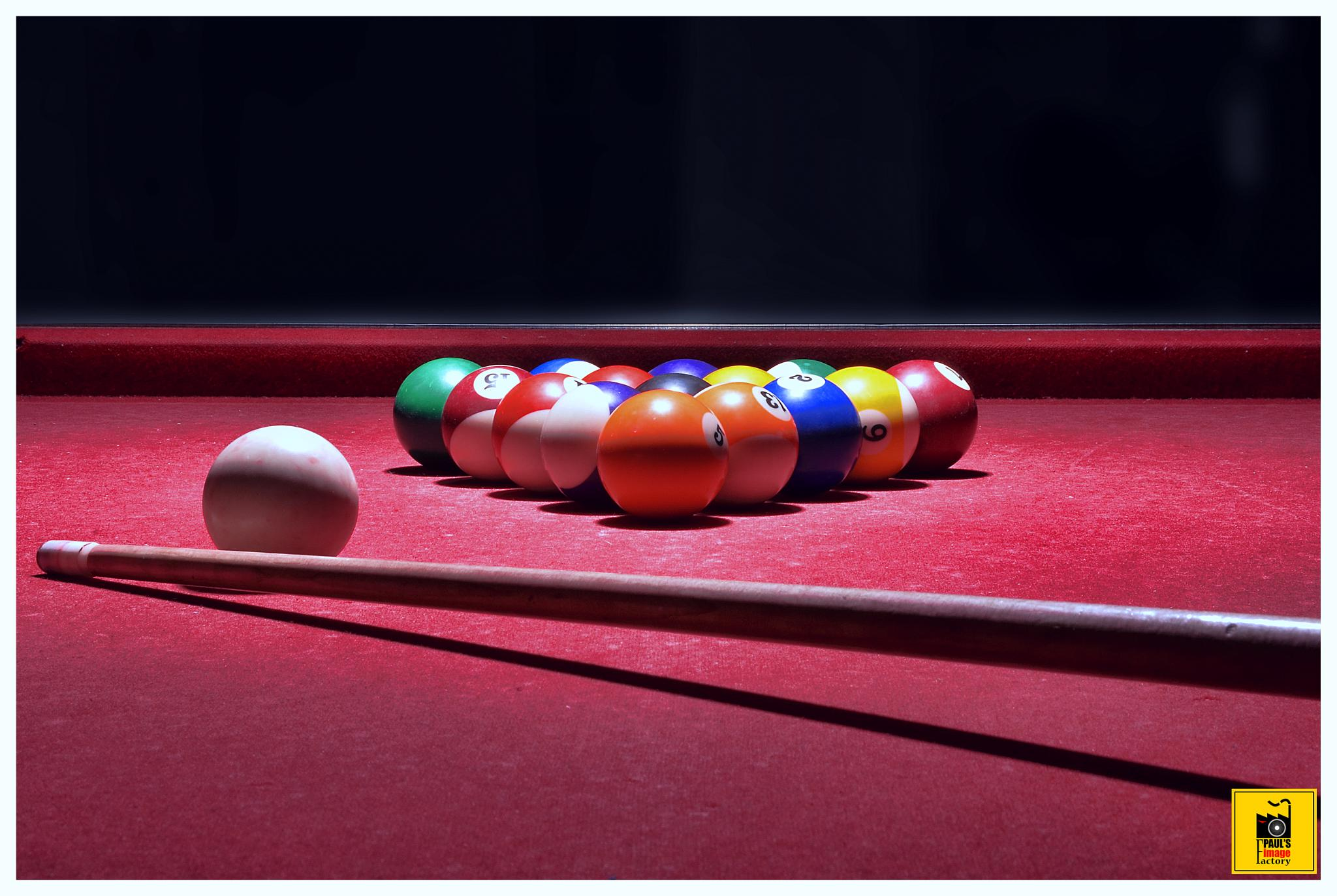 snooker by Paul Adrian Chis