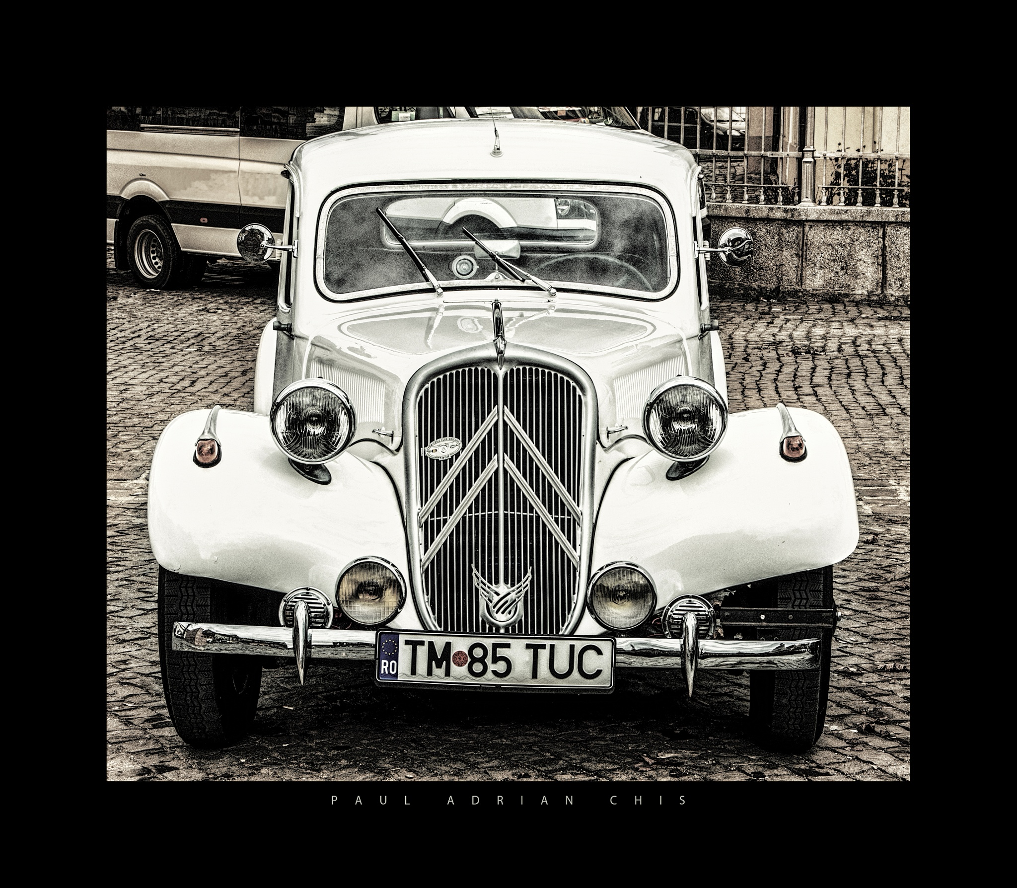 Classic Car  by Paul Adrian Chis