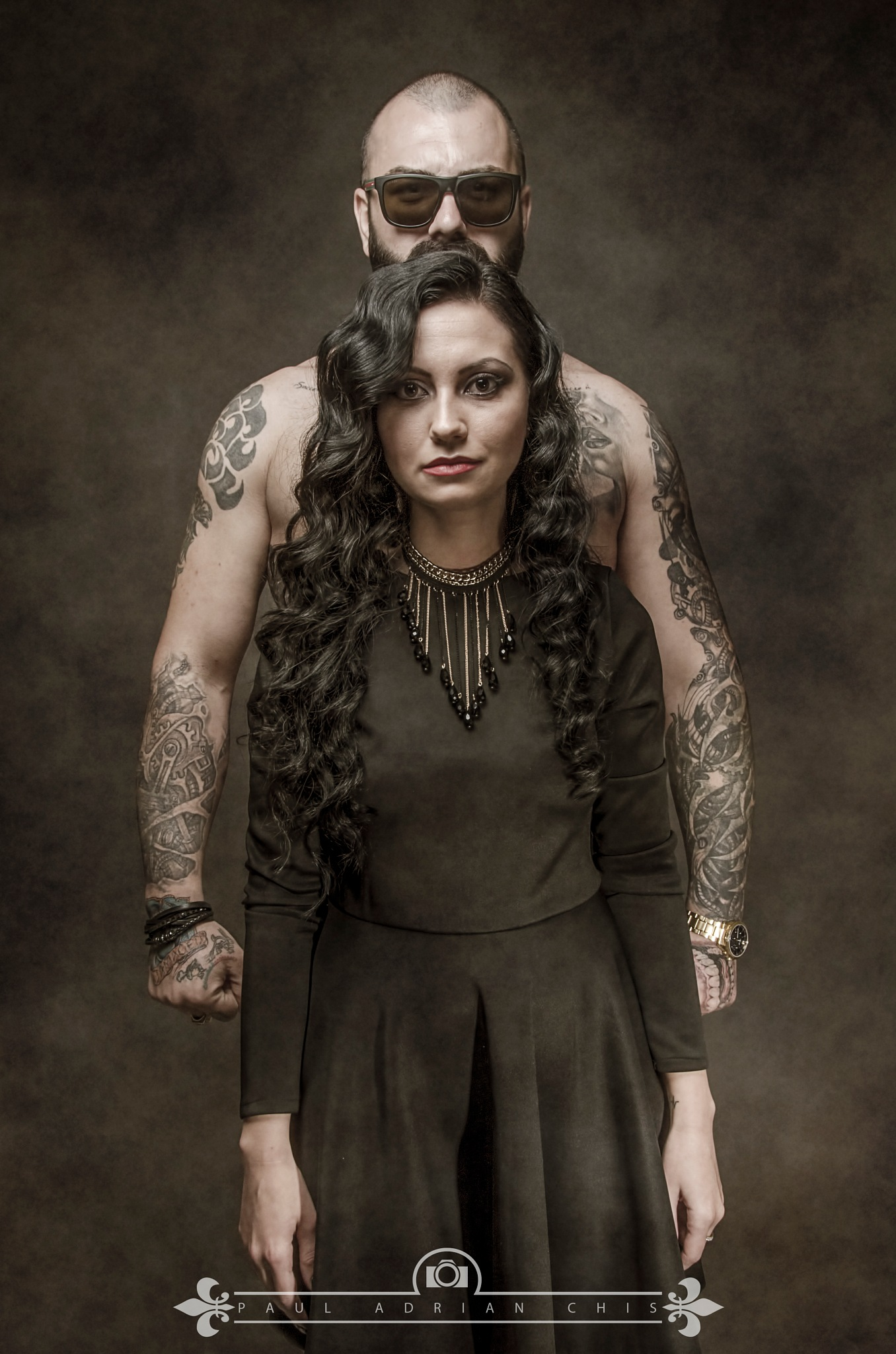 Two people  by Paul Adrian Chis