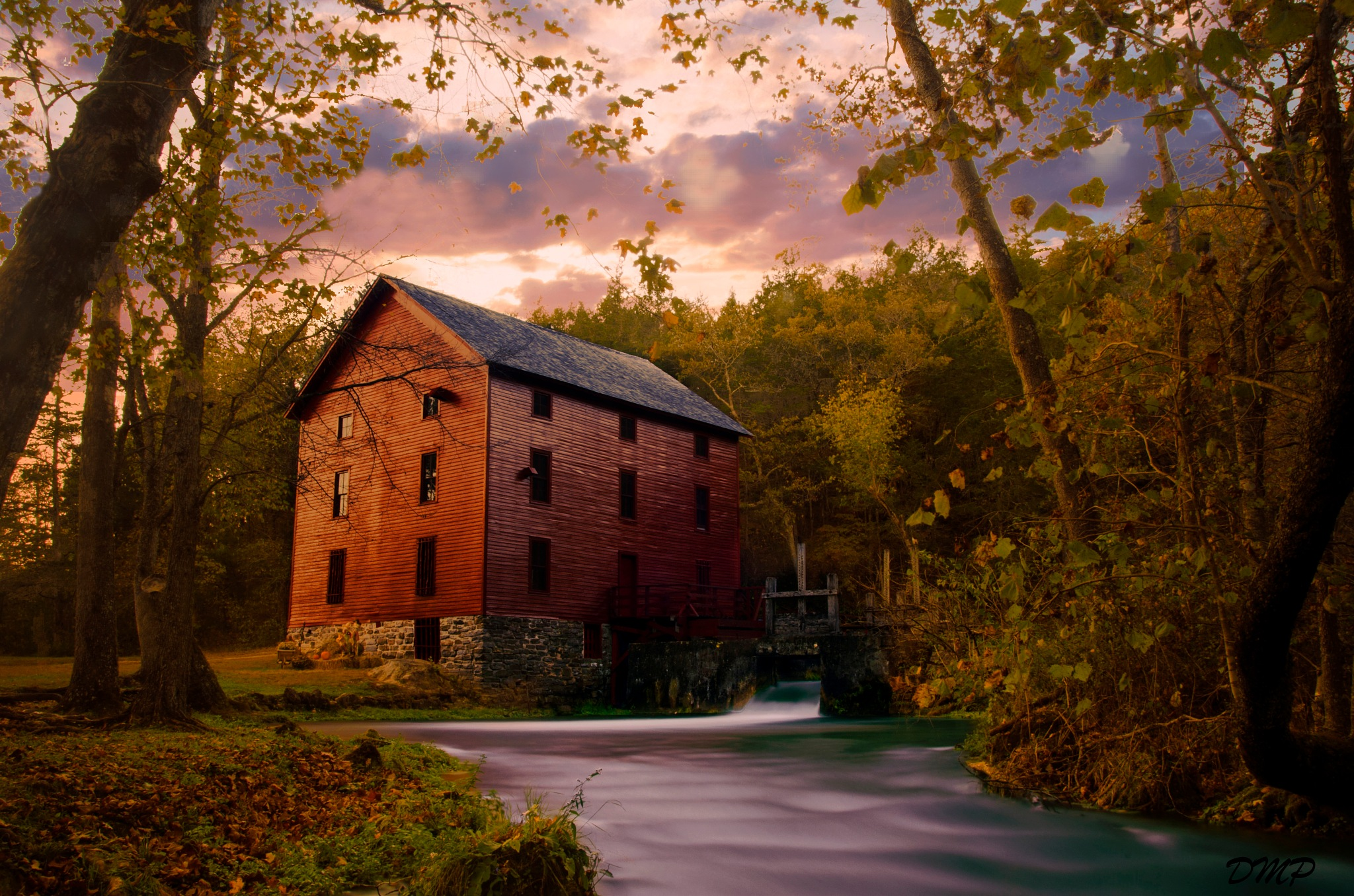 Alley Springs Mill Fall 2016 by DefiningMomentsPhotography