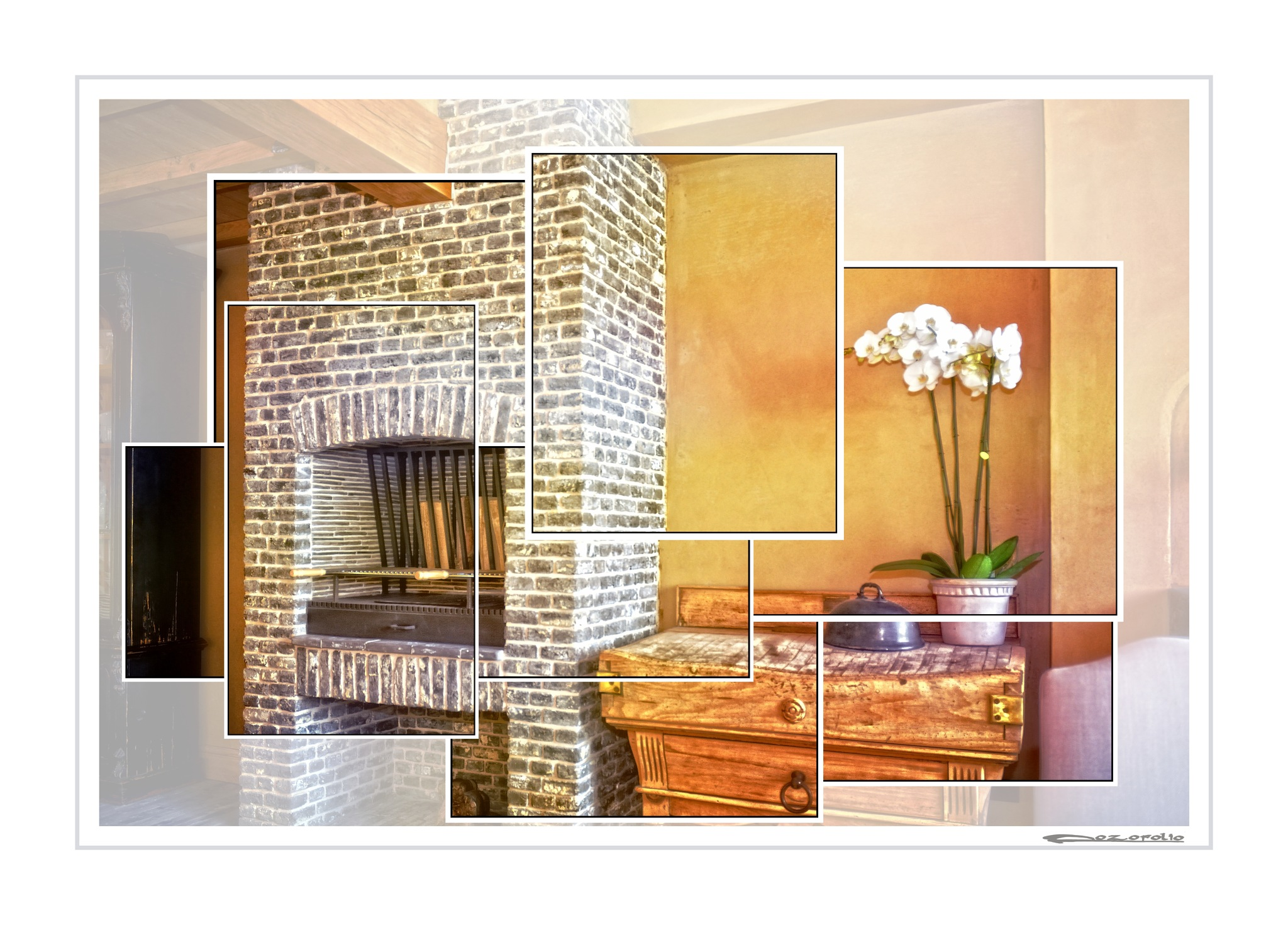 fire place  by Pozofolio