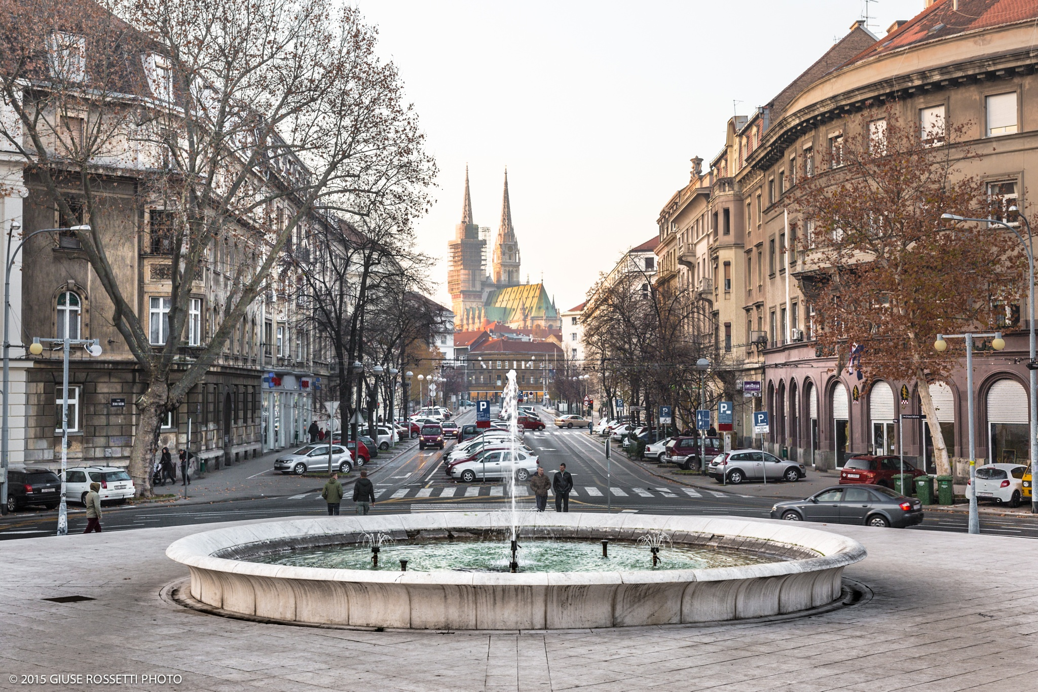 Typical prospects in Zagreb by Giuse Rossetti