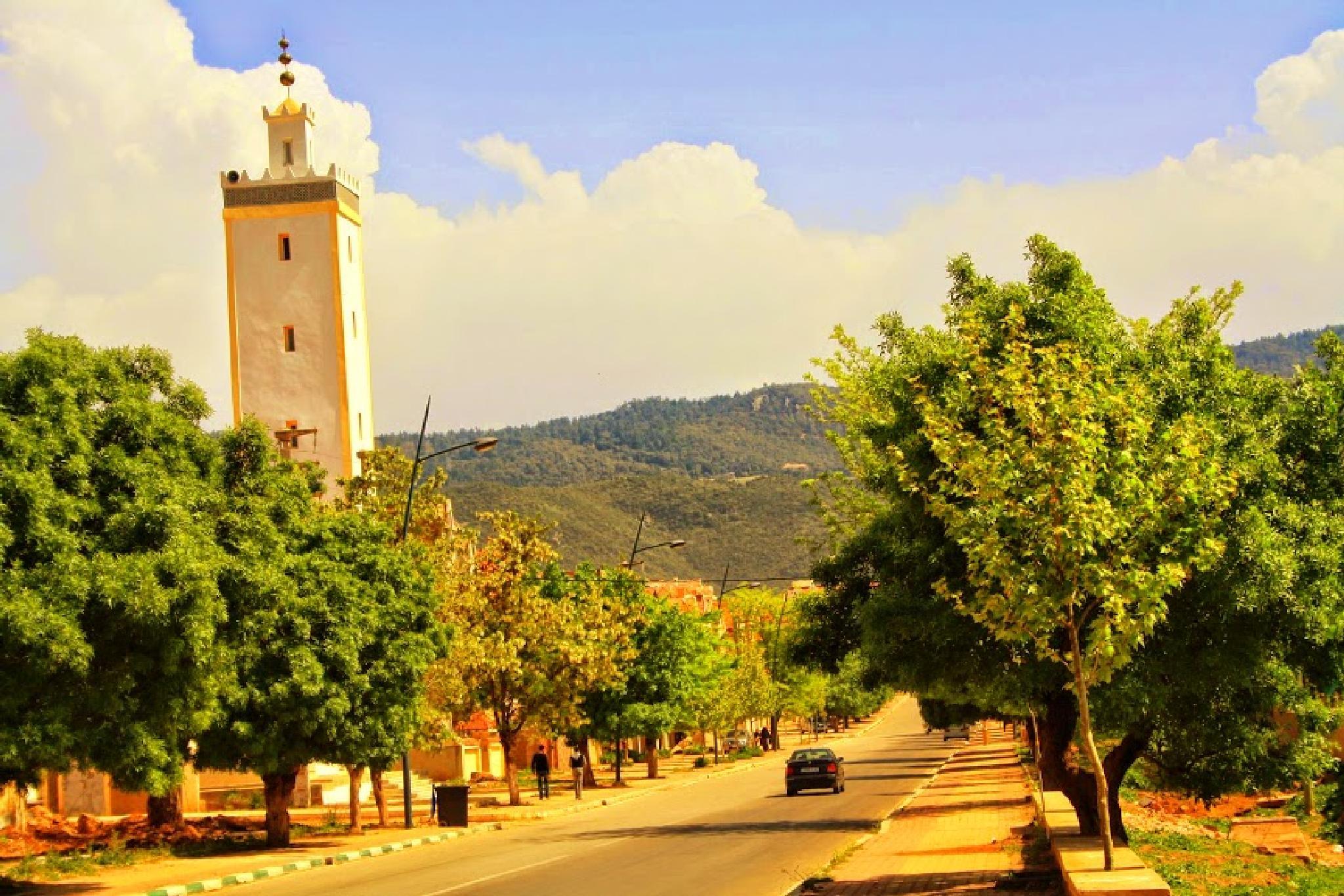 Ville d'Azrou by Hassane Monkachi