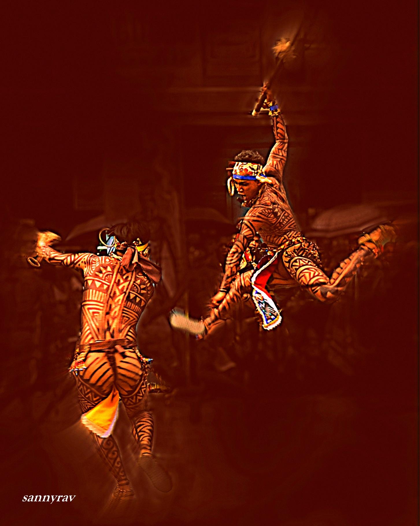 a fight dance by sannyrav