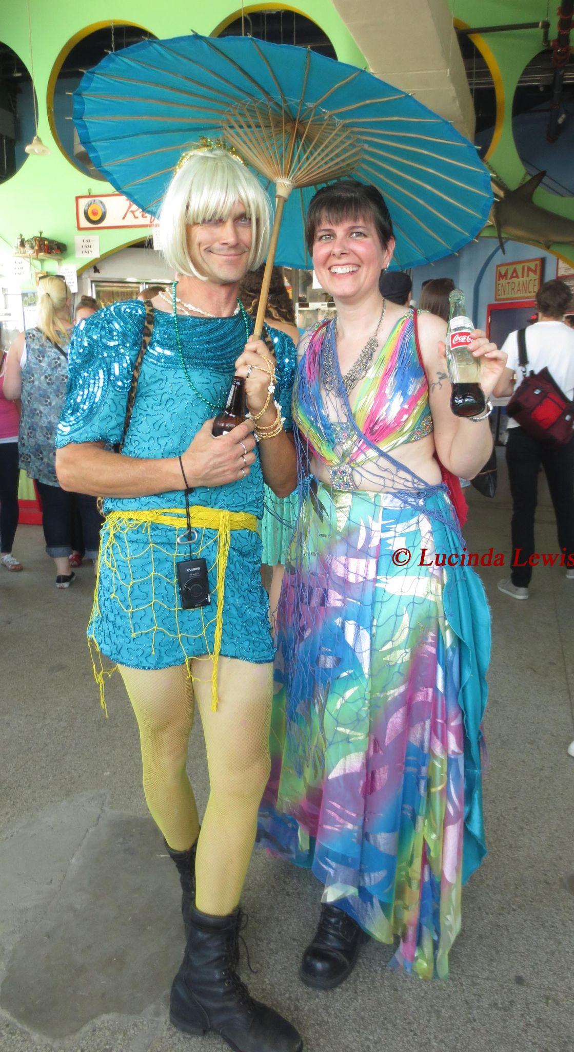 Mermaid Parade at Coney Island 21 June 2014 by LucindaLewis