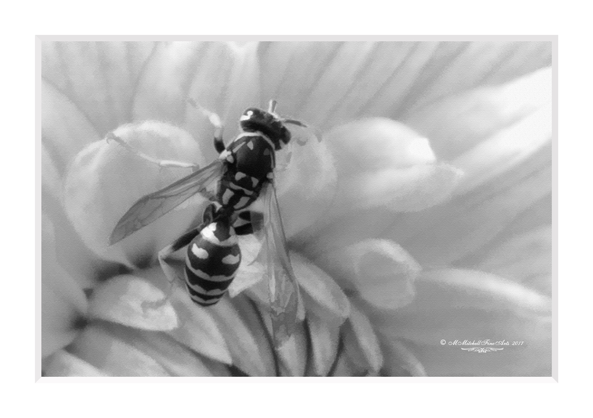 Dahlia and the Bee by Mary Mitchell