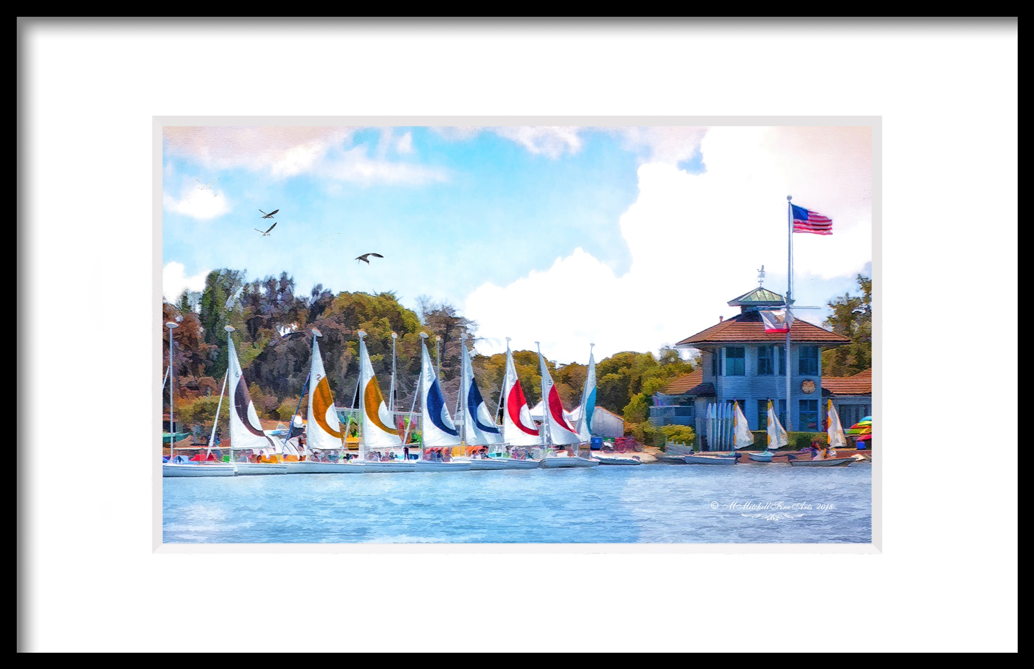 Little Yacht Club by Mary Mitchell