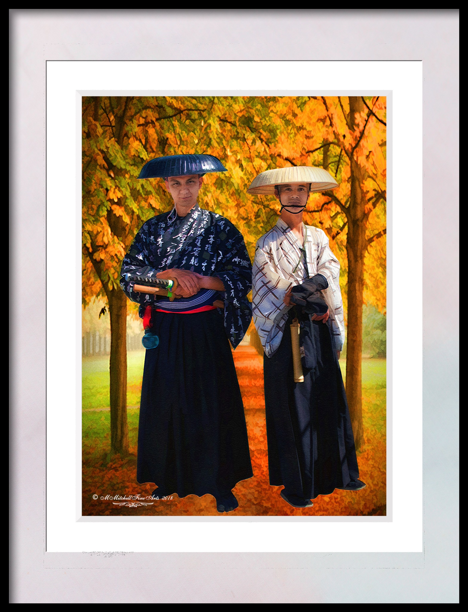 2 Samurai by Mary Mitchell
