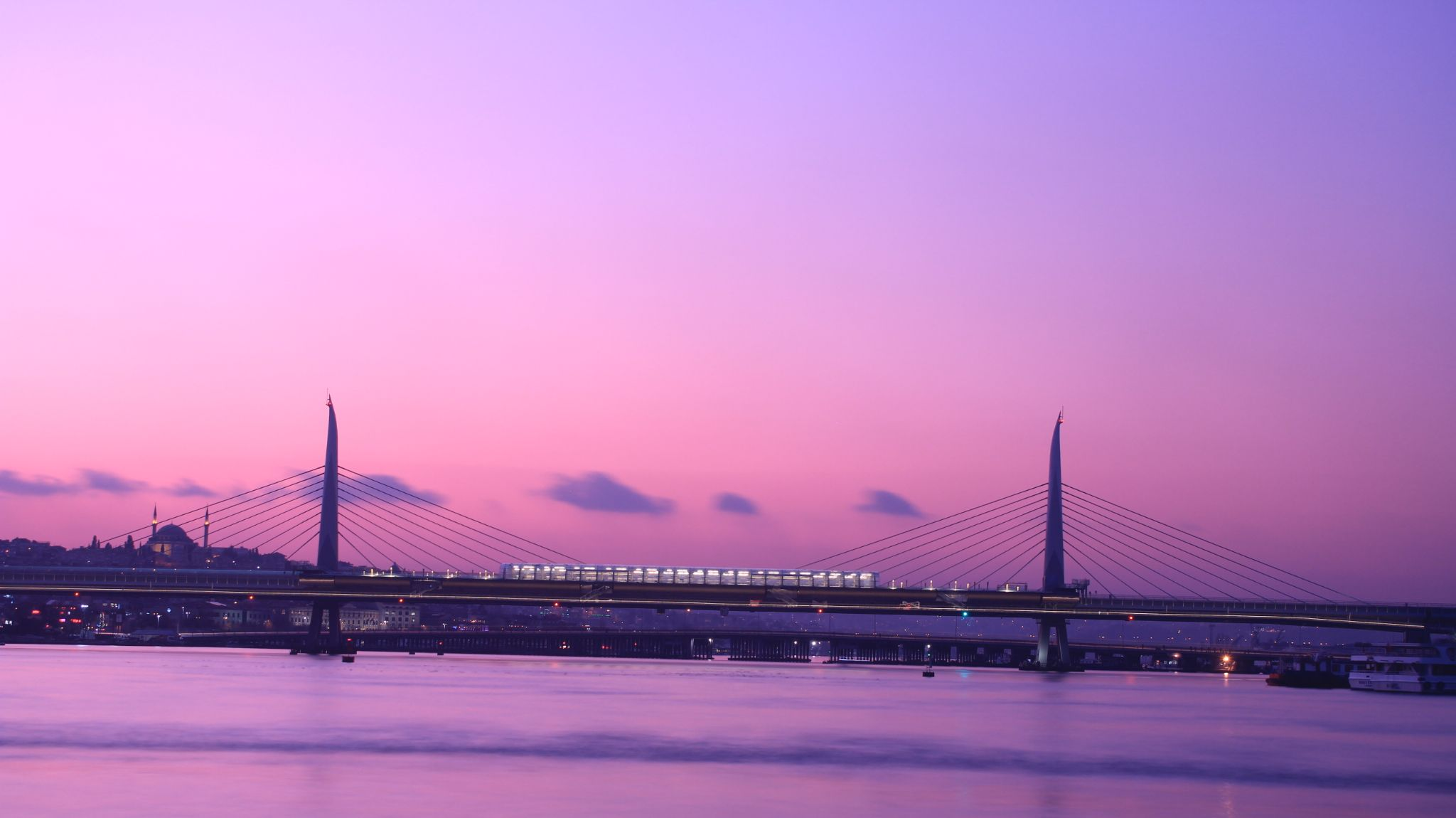 Haliç Metro Bridge by Ali Kemal Özer