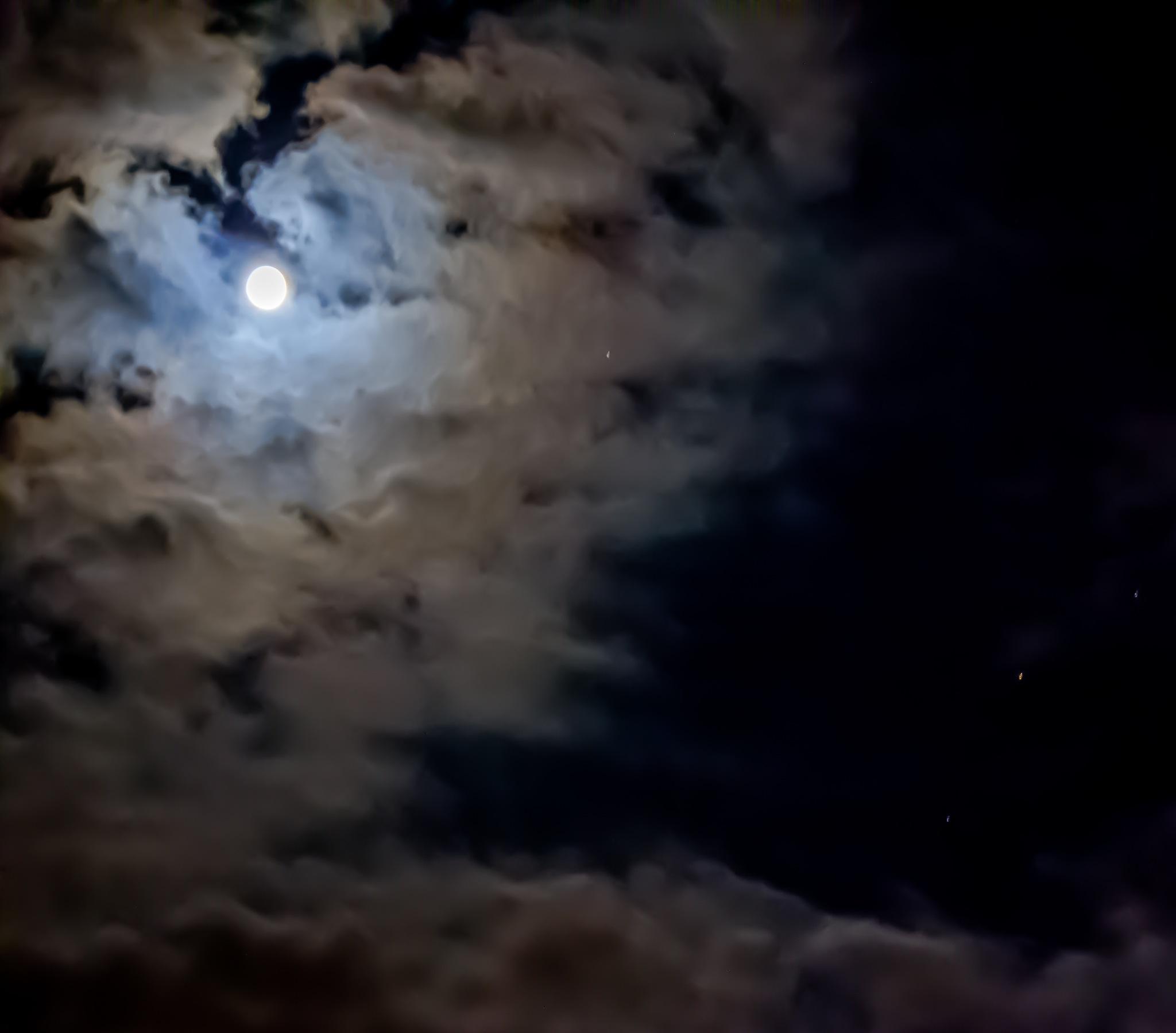 moon by Linda Hammad