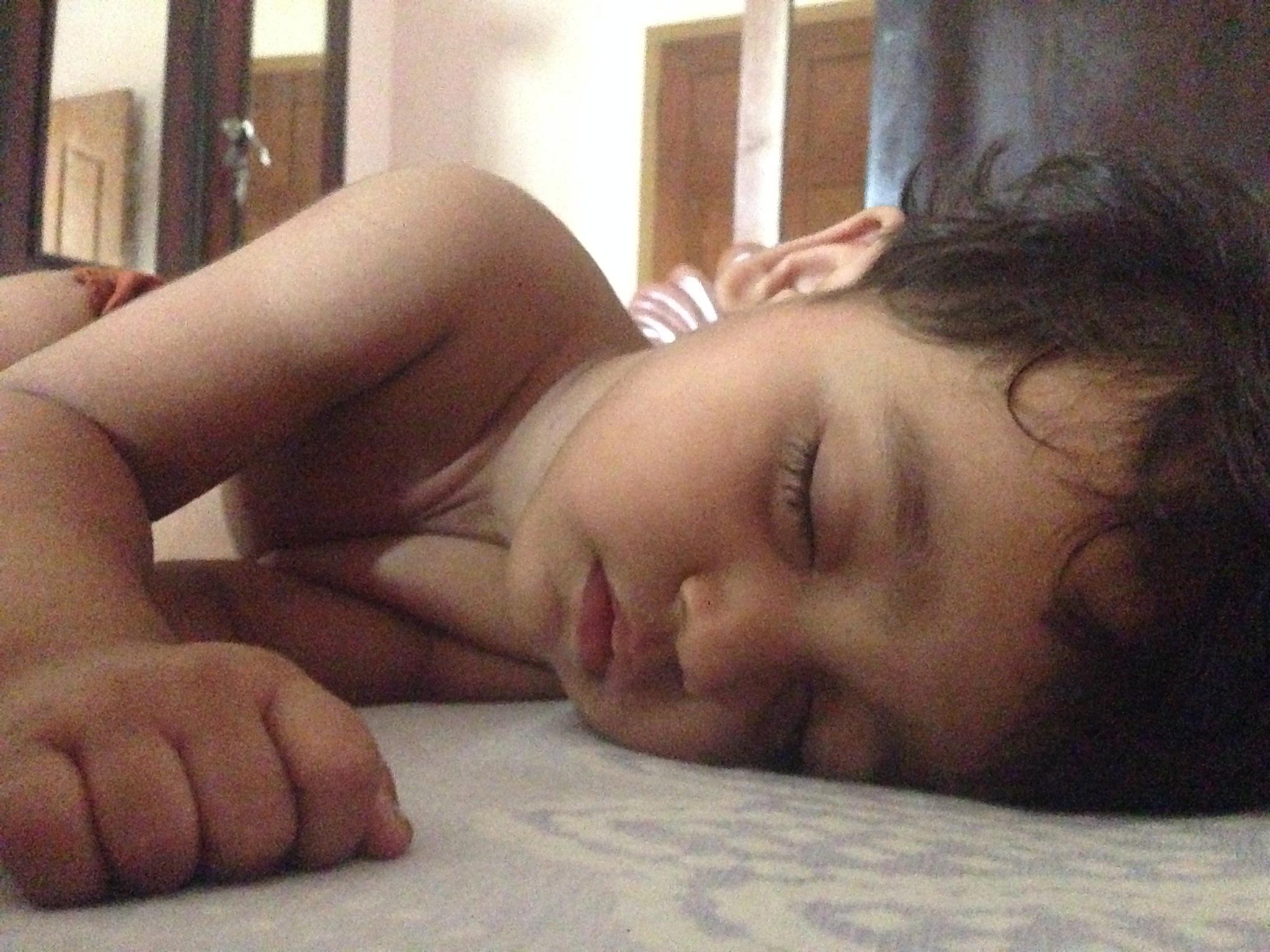 Sleeping child by Charles Paul