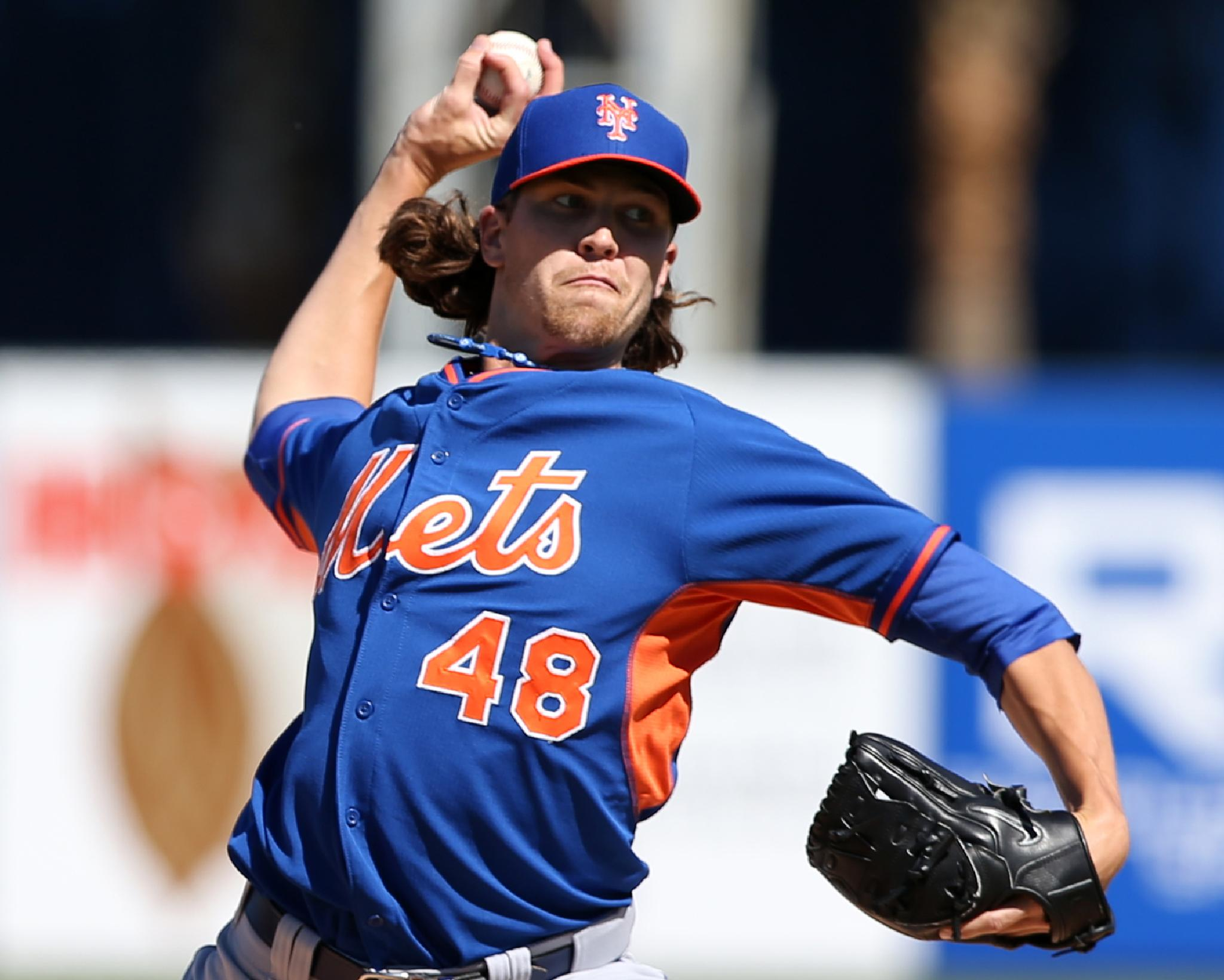 Jacob deGrom 2014 National League Rookie of the Year by Bruce Adler