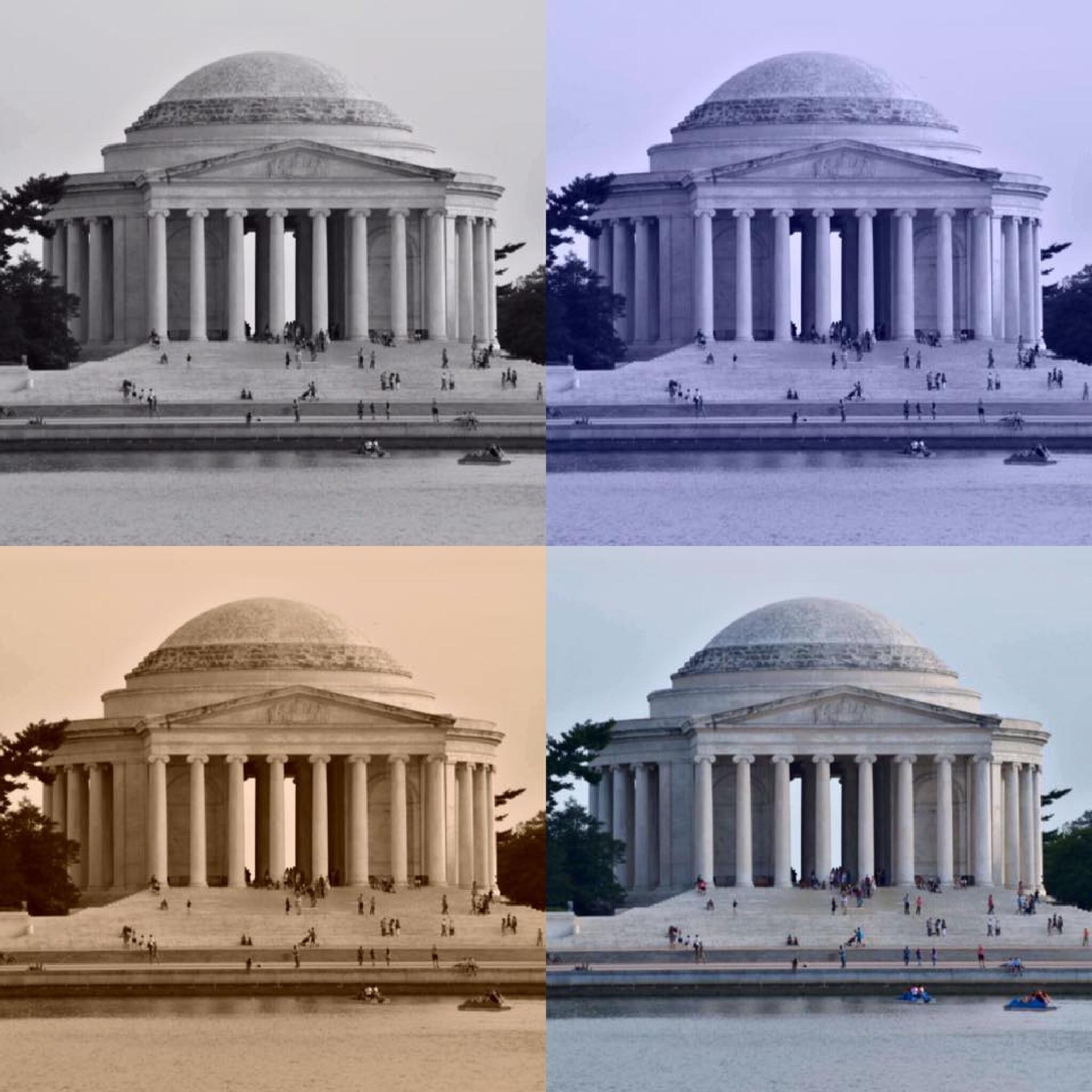 Jefferson Monument  by D.E.Terry