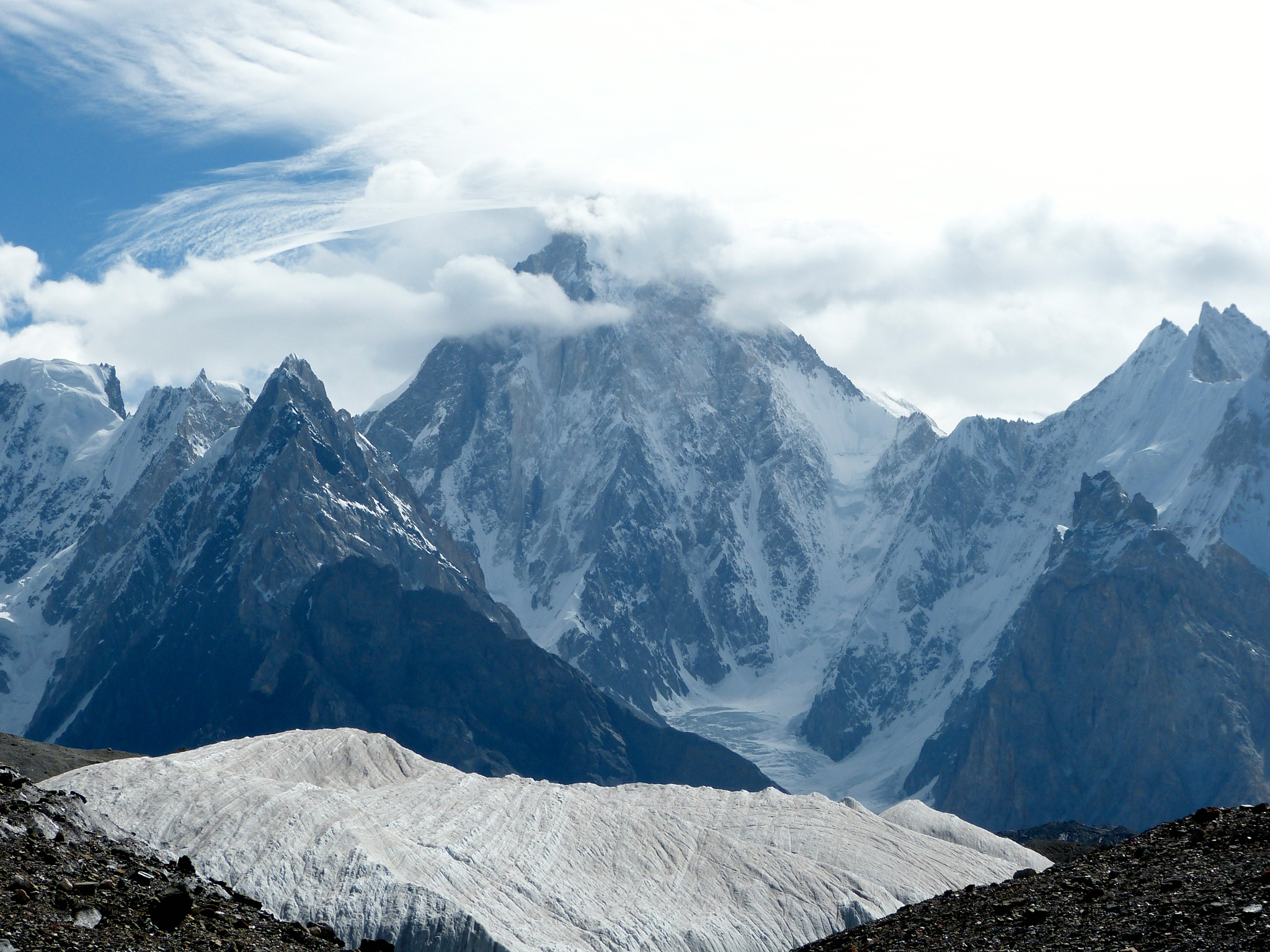 Masherbrum Peak Pakistan by Muhammad Hassan