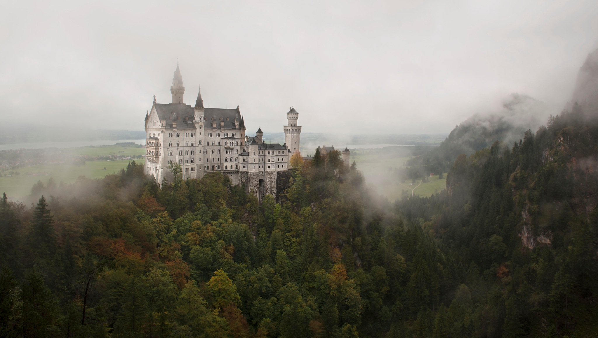 Neuschwanstein Castle... by Olga Kadler-Baltrusaitiene