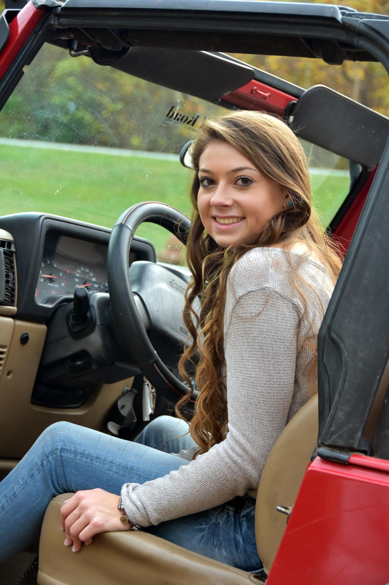jeep girly by Angie Peters Reszinski