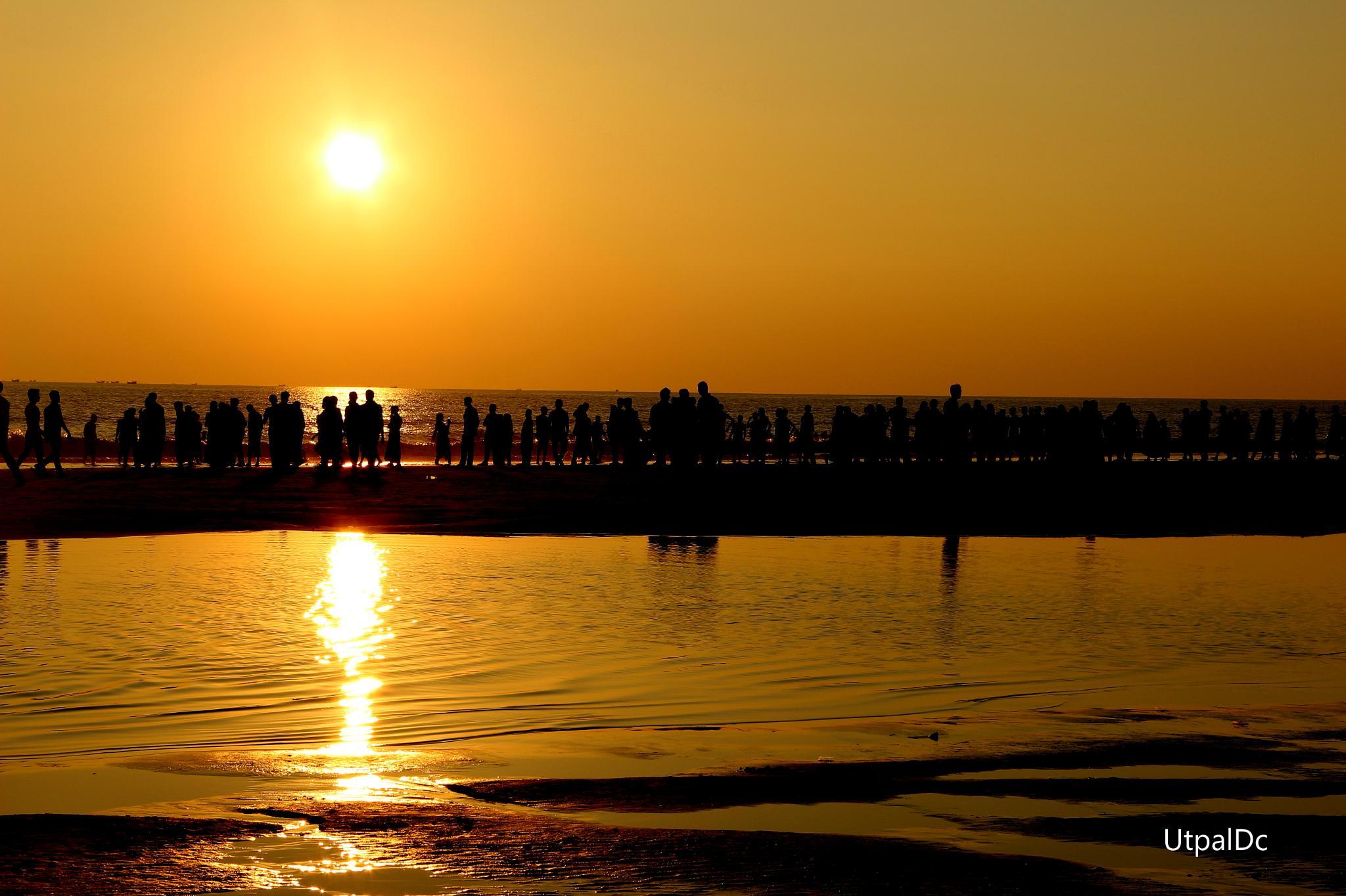 SunSet by Utpal Dey Chowdhury