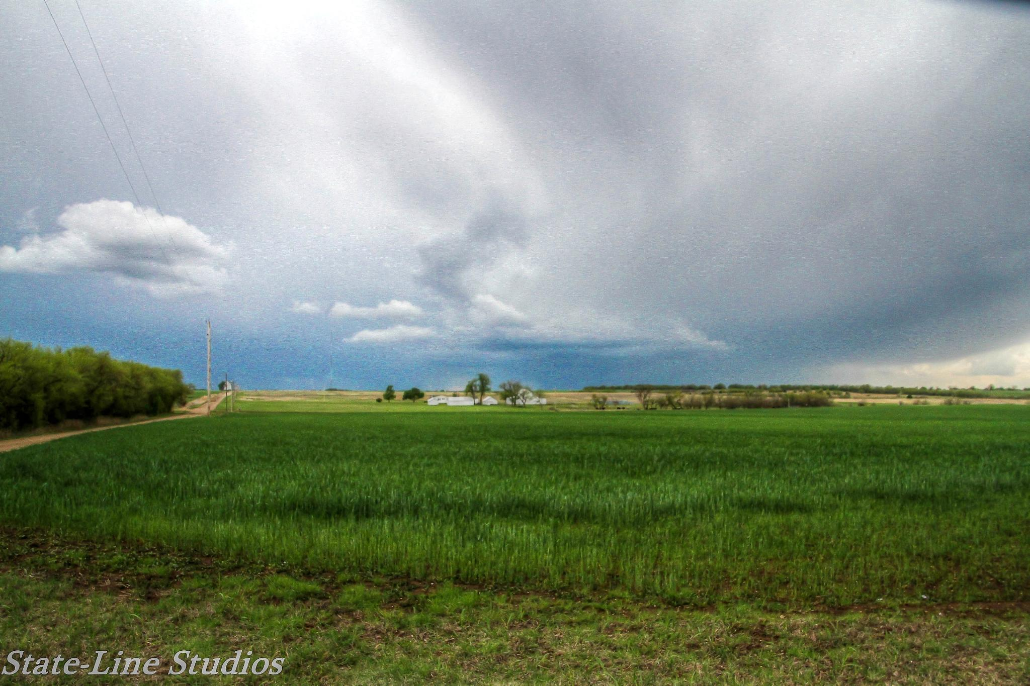 Beauty of a country storm by Dixie L Colquhoun