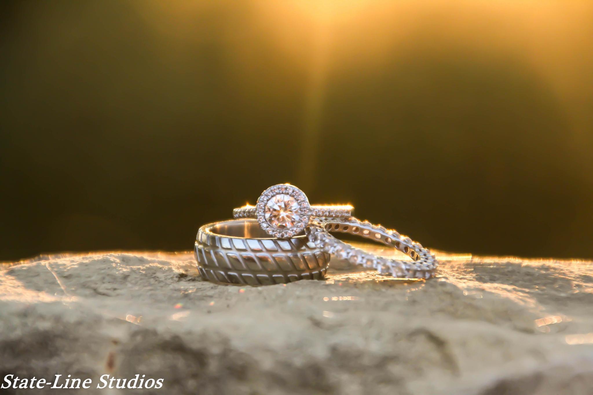 Photo in Still Life #wedding #rings #beautiful