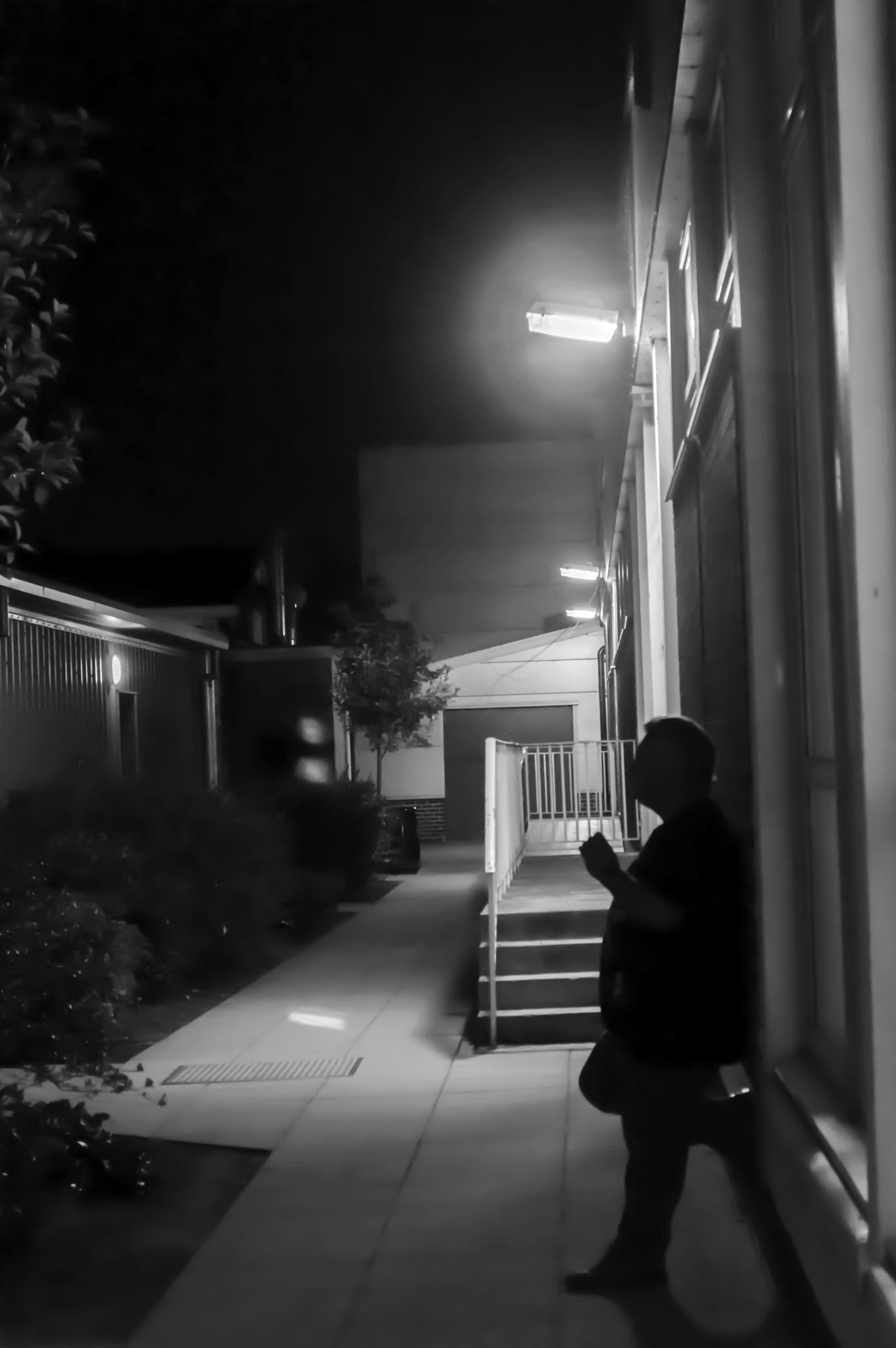 Photo in People #shadow #light #night #smoke