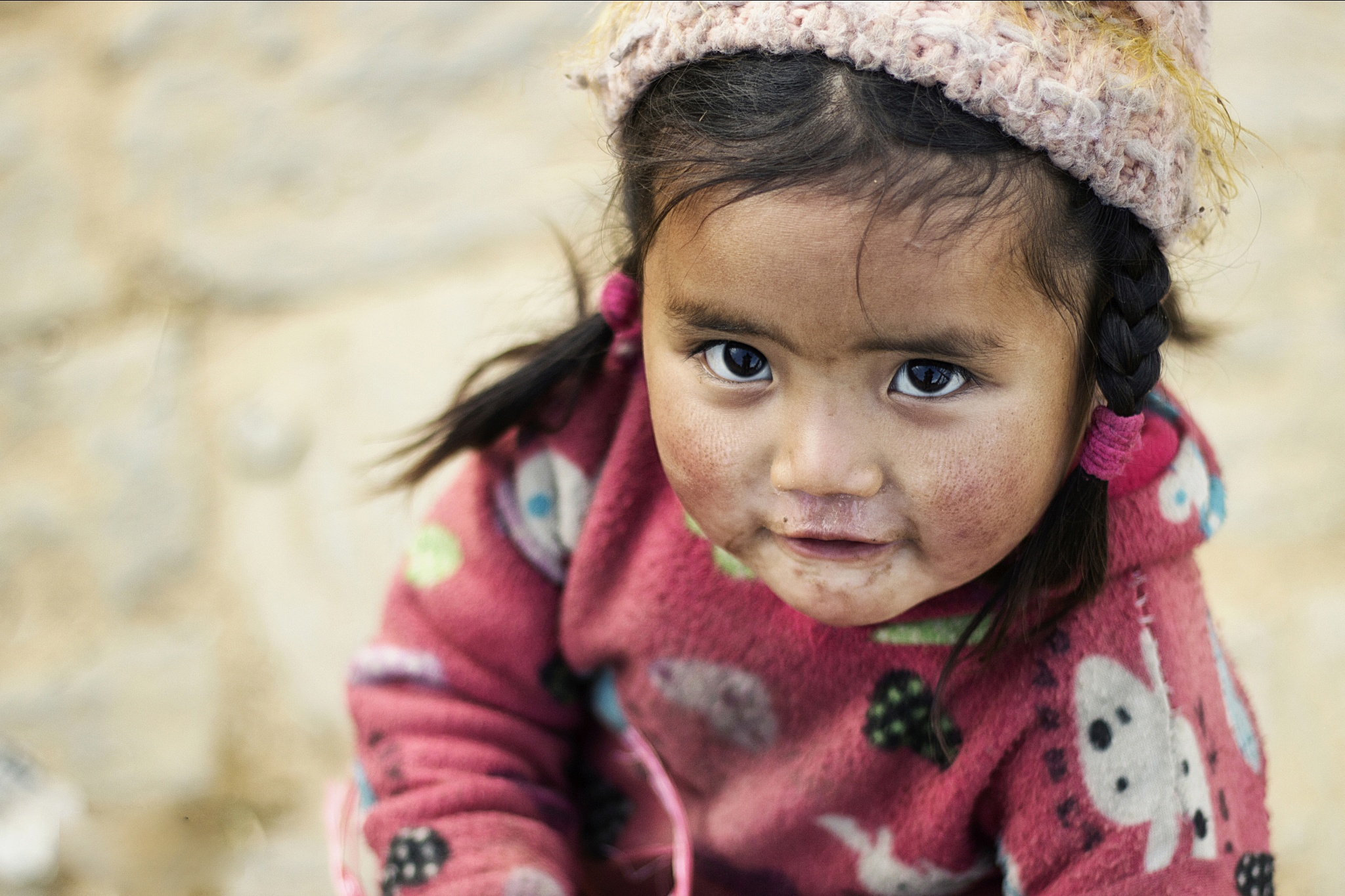 Kid Portrait by Pranishan Rajbhandari