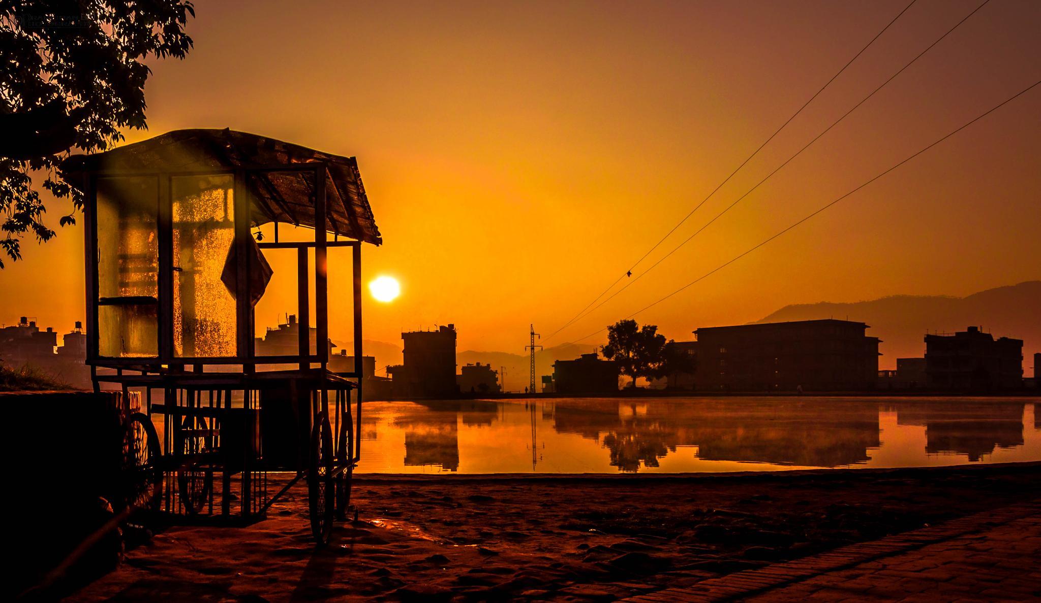 Morning view  by Pranishan Rajbhandari