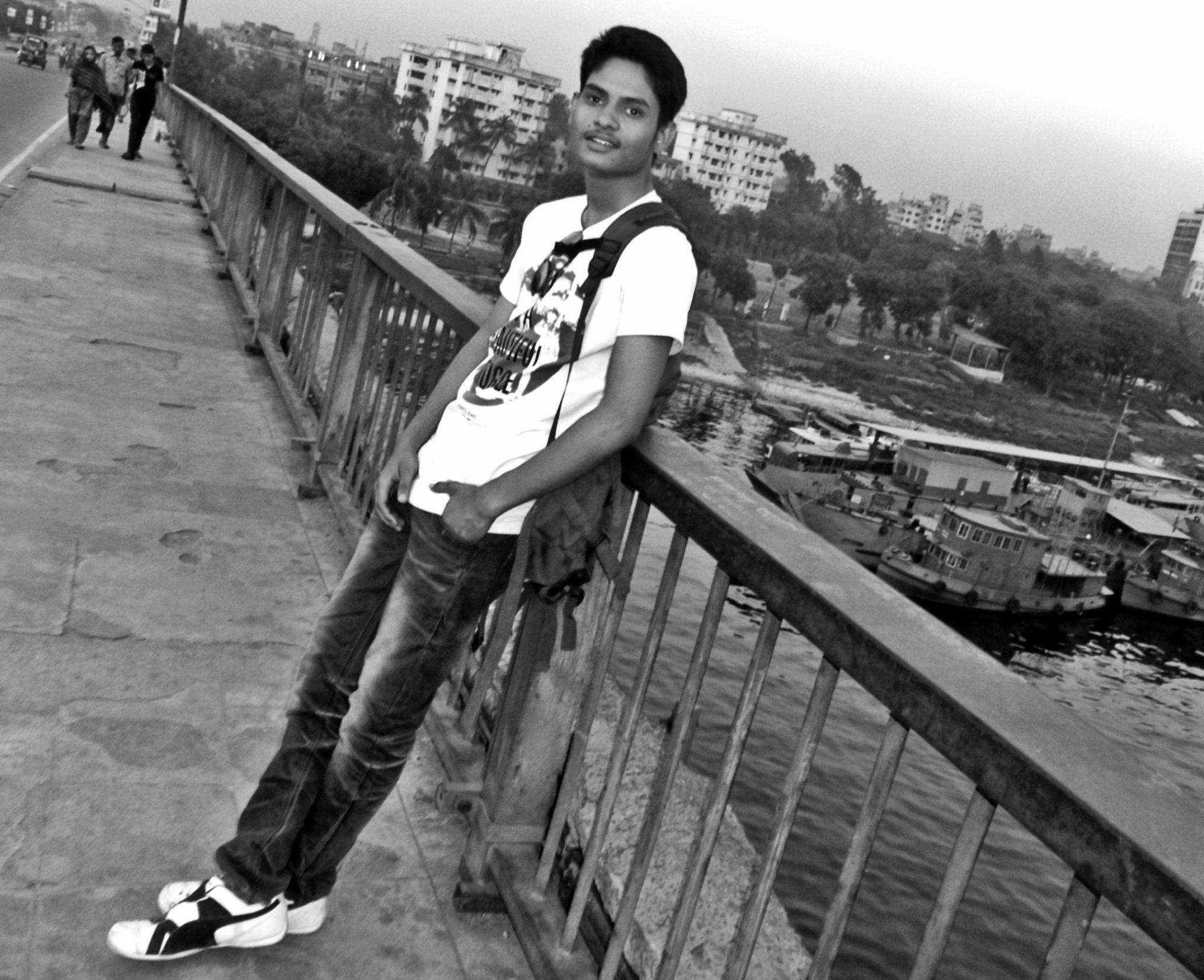 On The bridge by MasterAll Masum