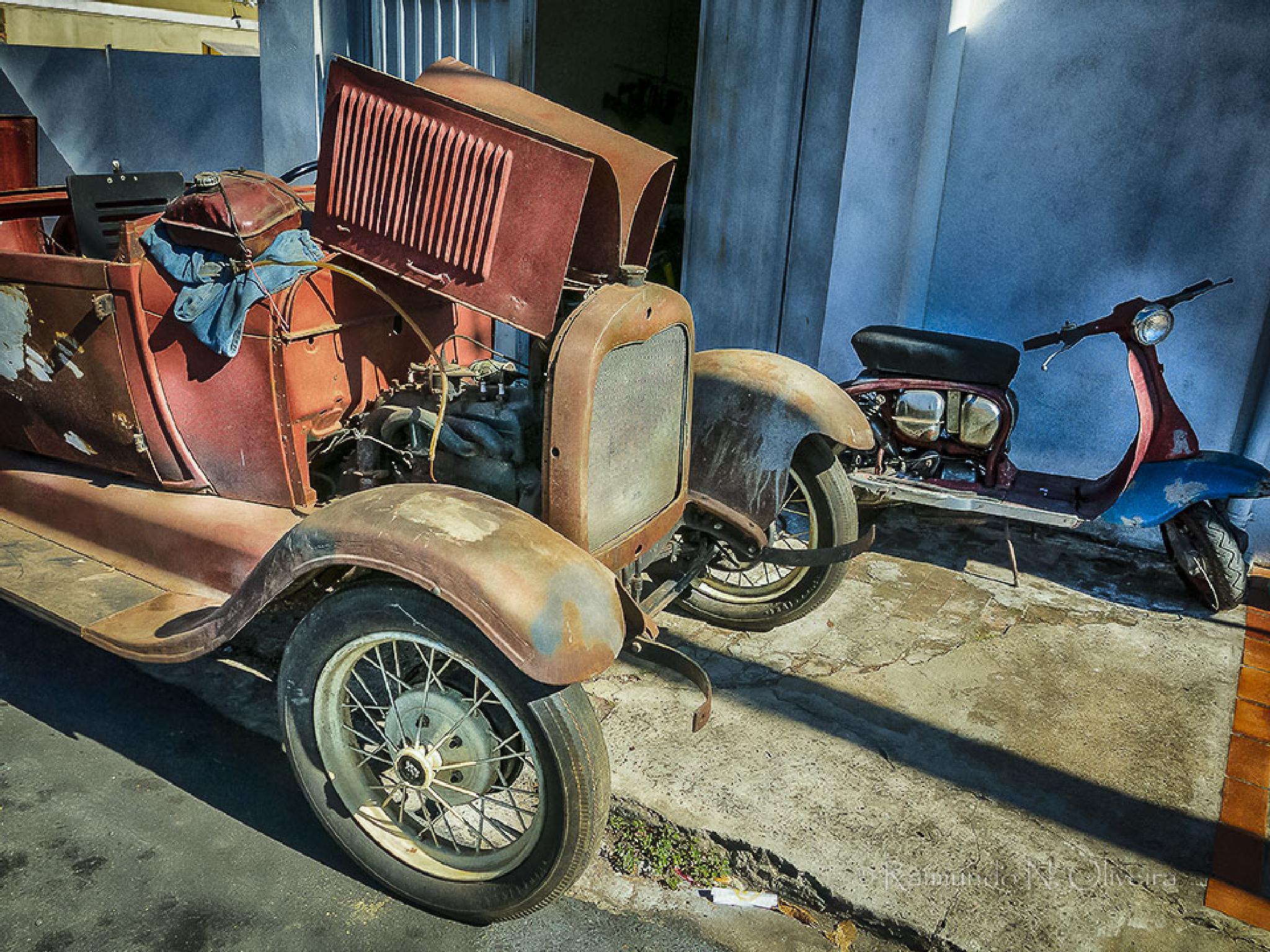 Ford 29 e uma bela Lambreta by Nibutel