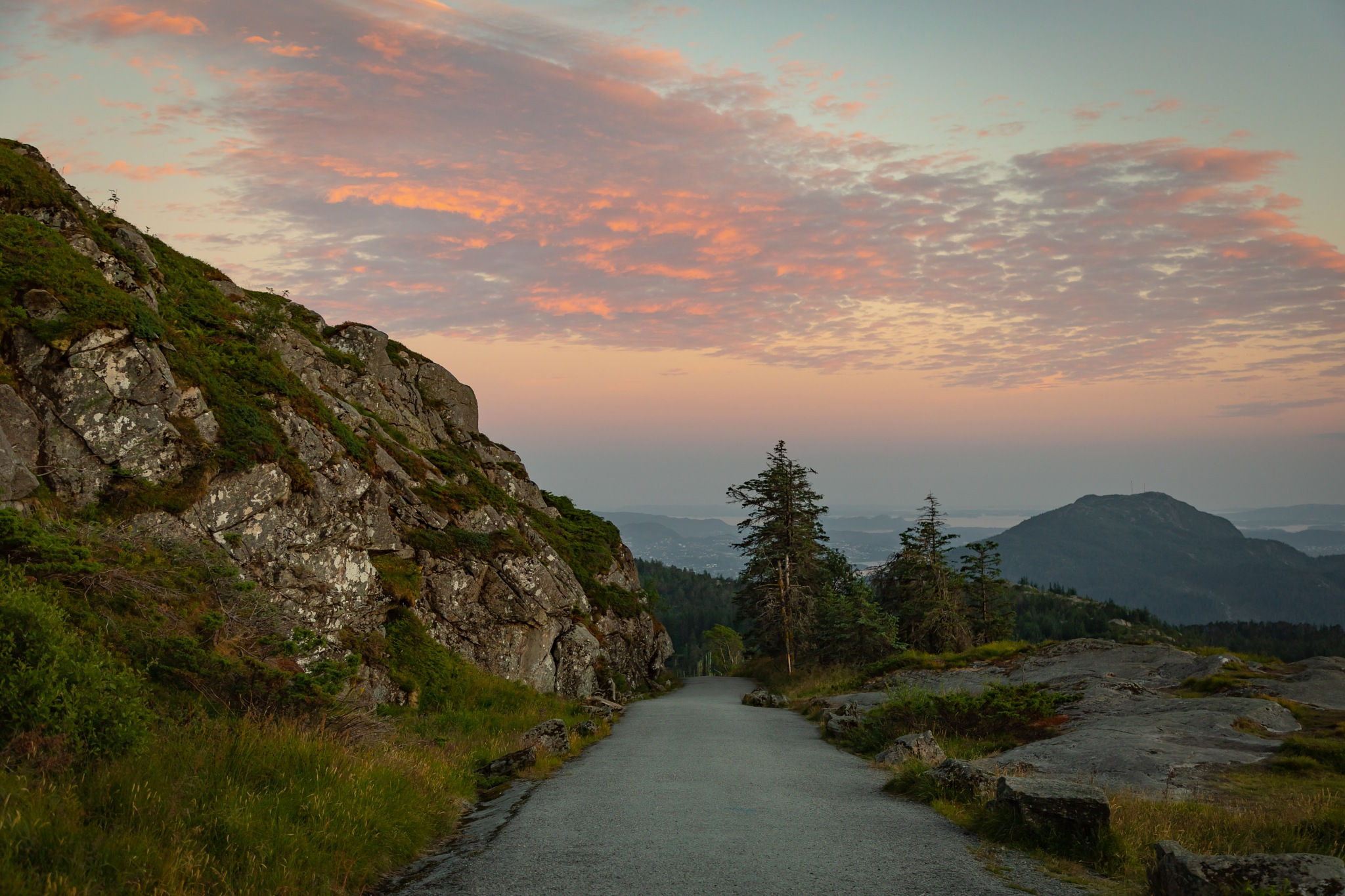 Sunset over Bergen by Svein Erik Andresen