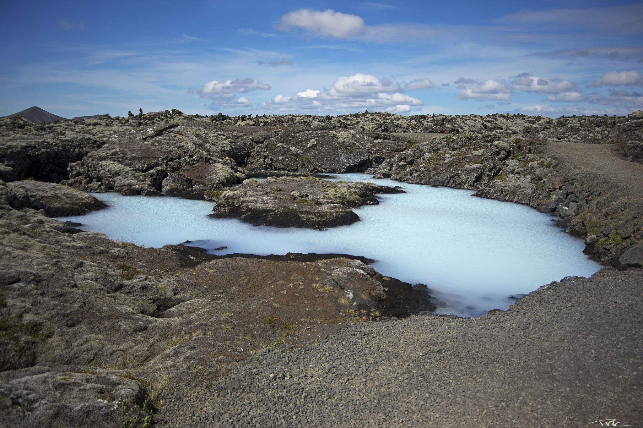 Blue Lagoon (3) by Pascal M. Cardon