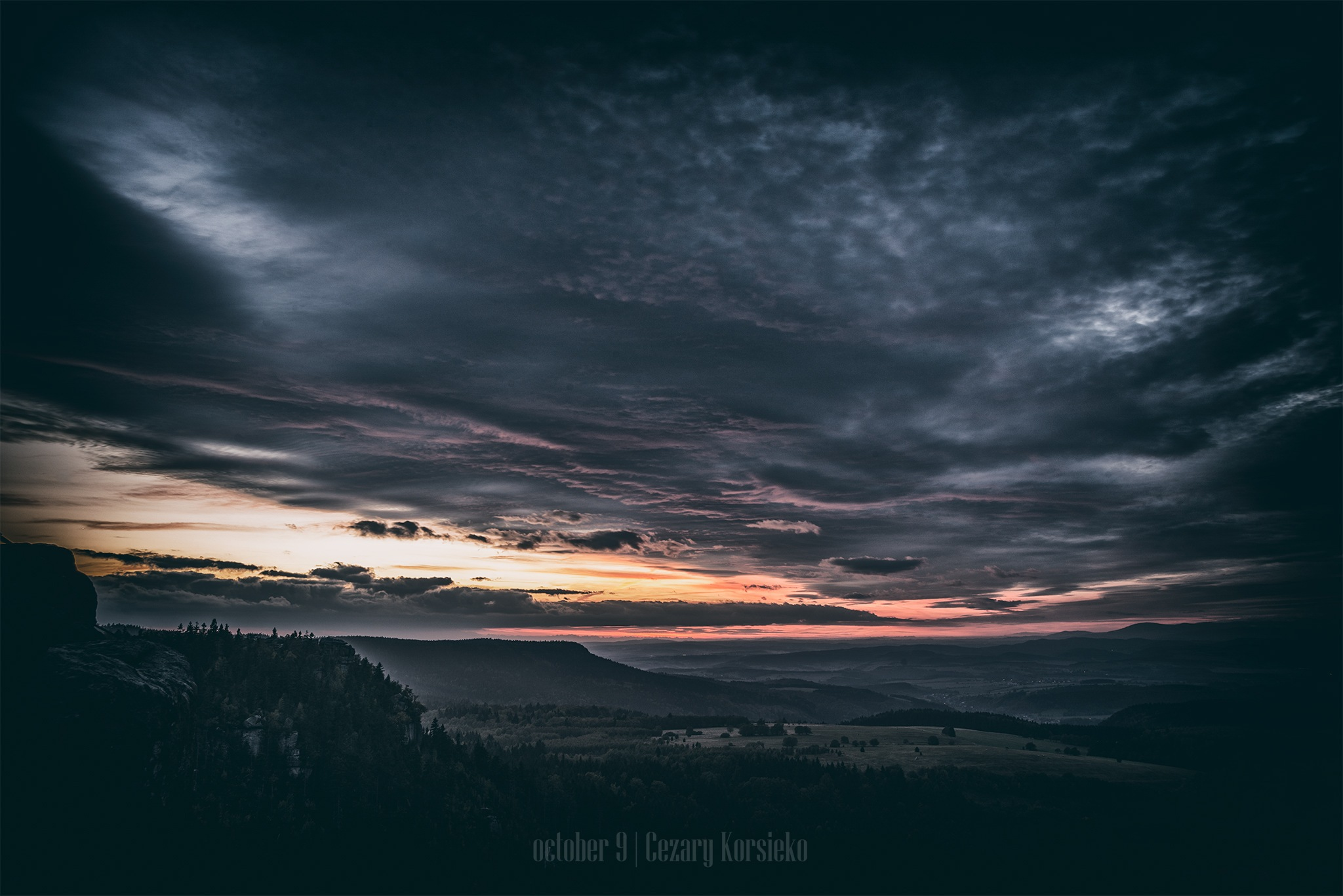 A view from Szczeliniec by Cezary Korsieko