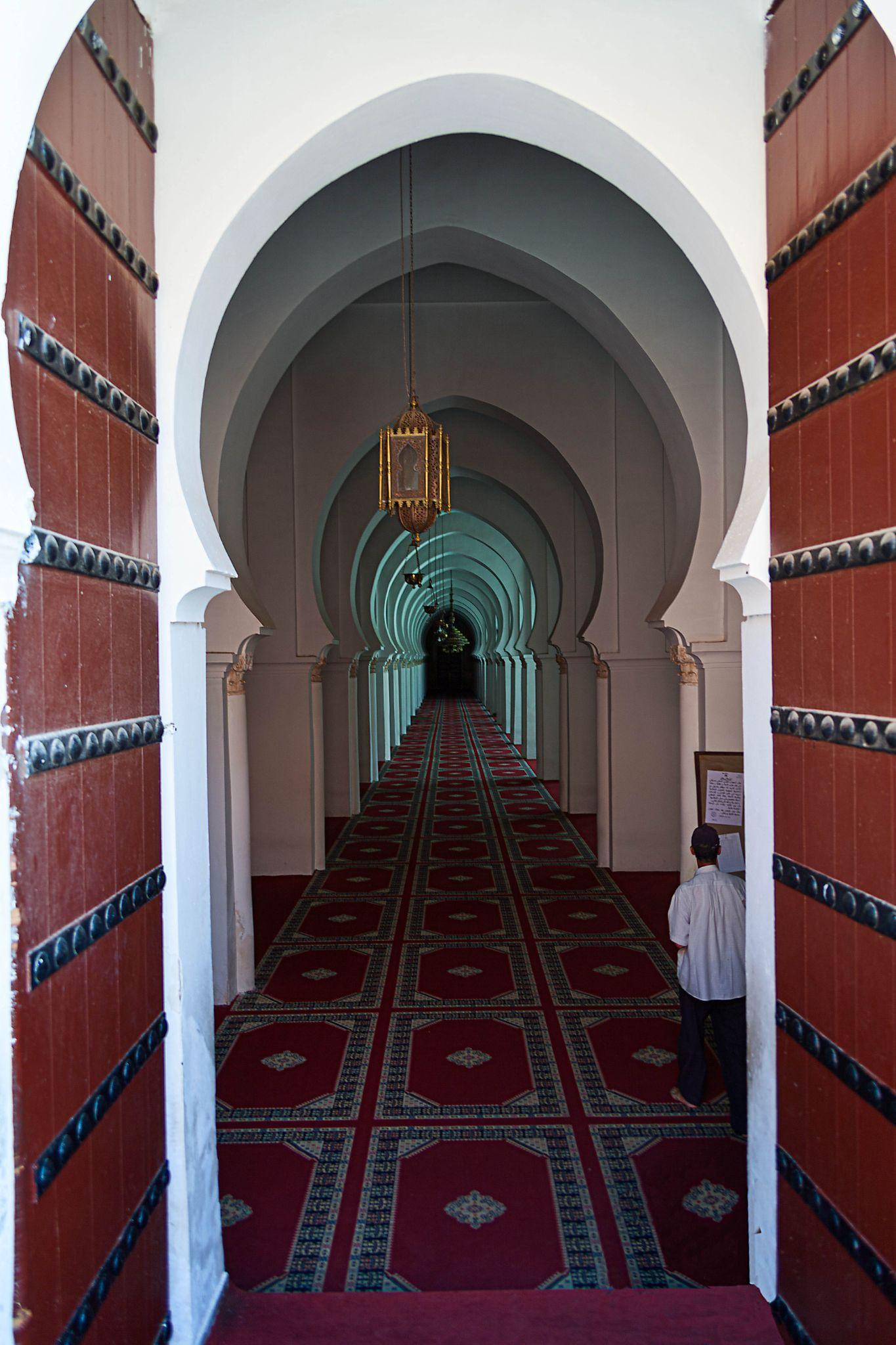 Koutoubia Mosque Entrance by Randy Dorman