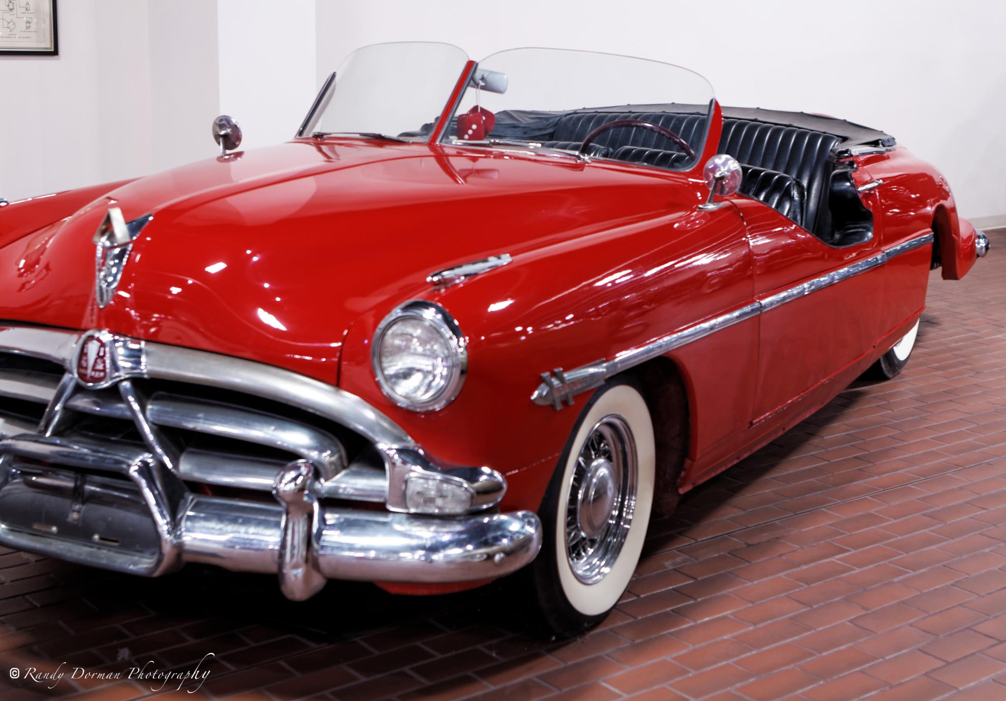Photo in Vintage #1951 #hudson #brougham #convertible #parade car #museum #shipshewana #in