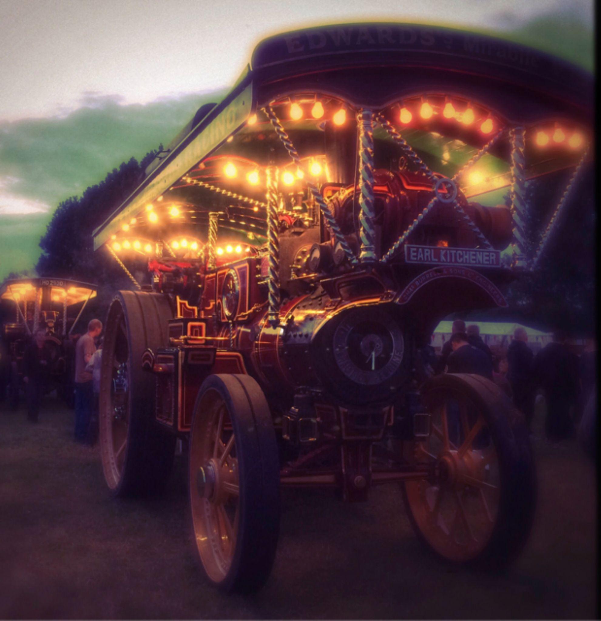 steam at night by GillianFG