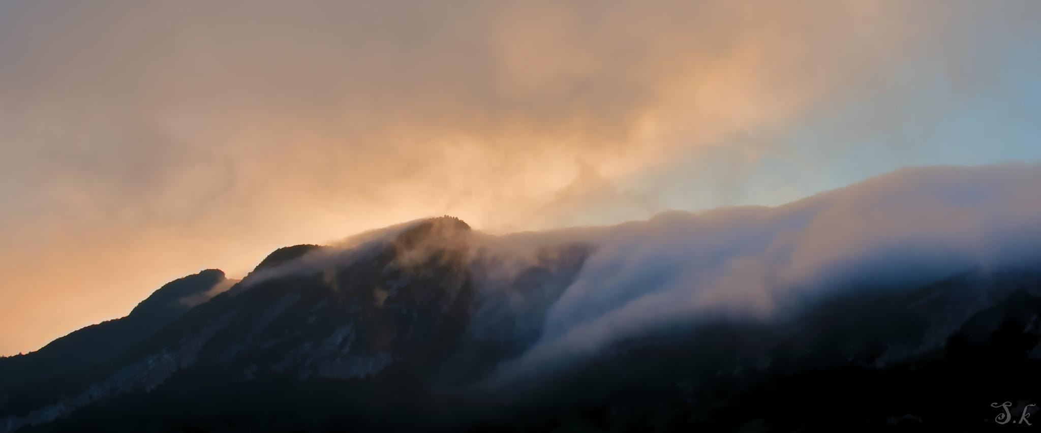 A fog journey by Sanaa Kerroumi